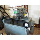 """BERCO DY350-A Vertical hydraulic honing machine with 1.578""""- 6.109"""" honing dia, 13.750"""" max honing"""