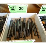 LOT/ CHISELS & PUNCHES