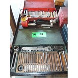 LOT/ KO-LEE VALVE SEAT CUTTERS WITH ADAPTORS