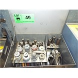 LOT/ SIOUX VALVE SEAT GRINDER WITH DRIVERS & ATTACHMENTS