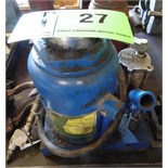 50 TON AIR OVER HYDRAULIC BOTTLE JACK