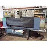 """BERCO STC-361 Rotary hydraulic cylinder head & block surface grinder with 40"""" table travel, 20.8"""""""