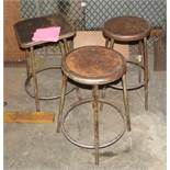 APPROXIMATELY [20] SHOP STOOLS [LOCATED AT 280 HARTFORD AVENUE, NEWINGTON, CT]