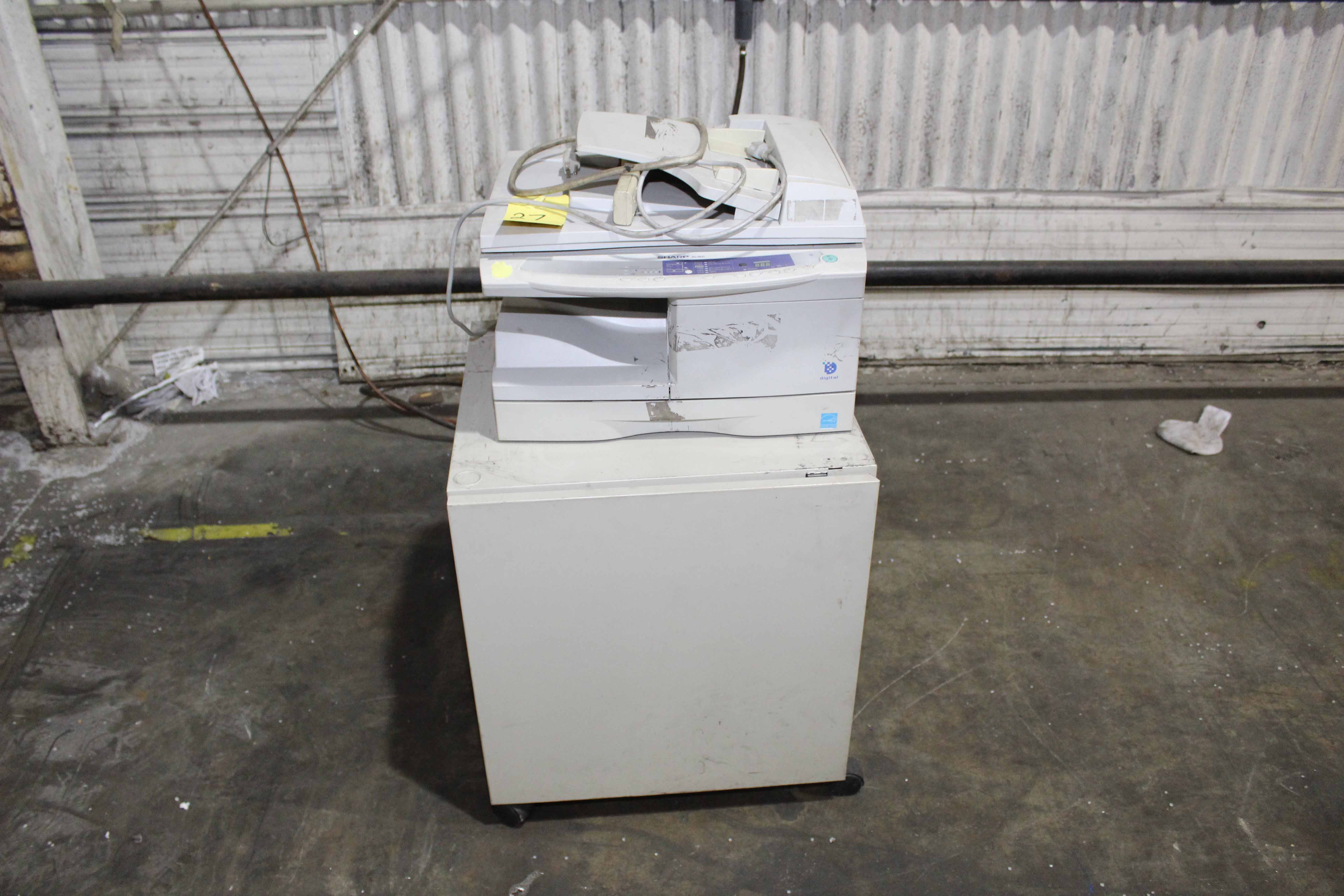 Lot 27 - LOT CONSISTING OF: COPY MACHINE, SHARP; VISCOSITY CONTROLLER, MEISEI CORP. MDL. GP-10-P10, (2);
