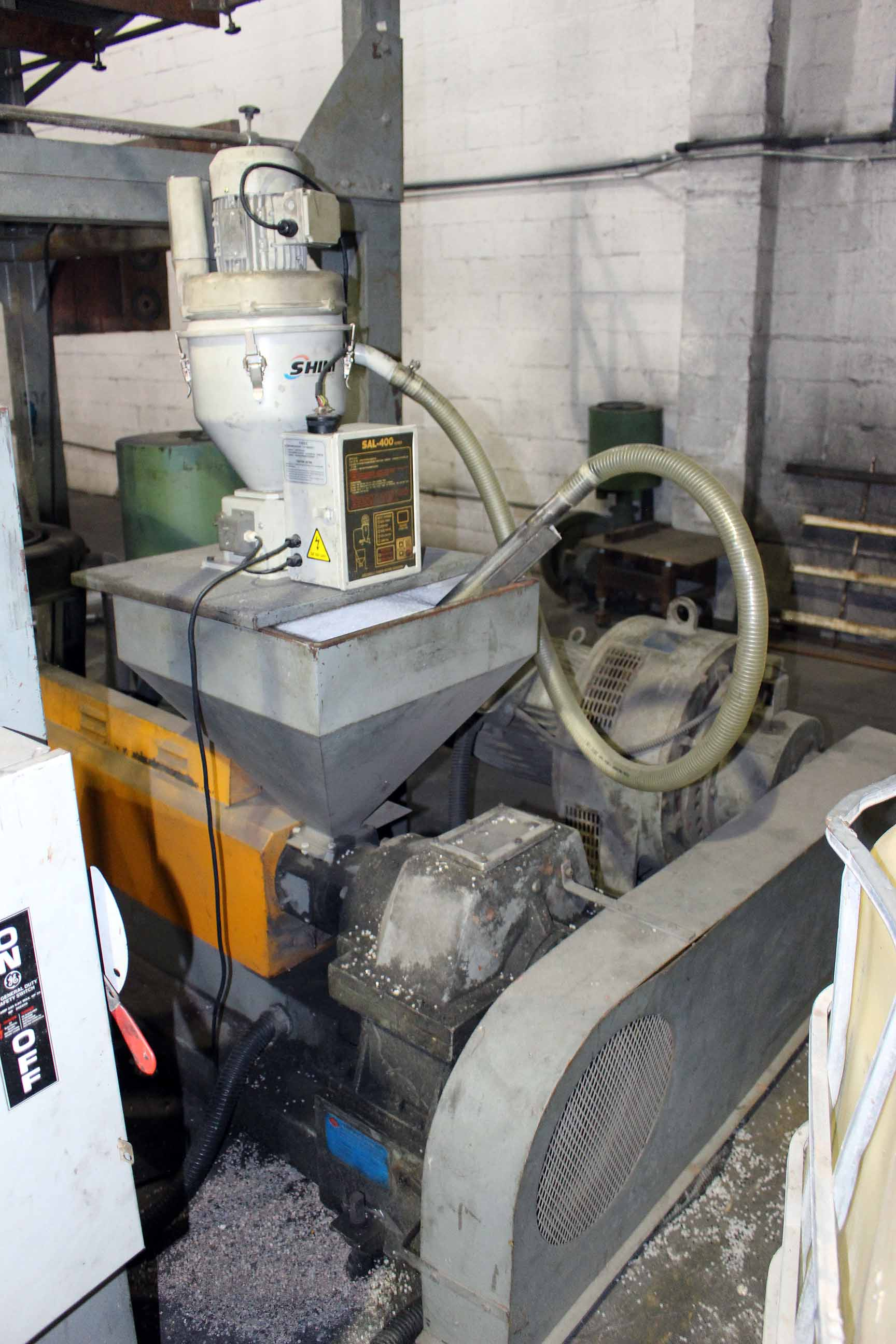 Lot 5 - BLOWN FILM BAG EXTRUSION LINE WITH 1-COLOR PRINTER; consisting of: Ilie Machinery Mdl. EP-LA55
