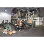 Lot 4 - BLOWN FILM BAG EXTRUSION LINE WITH 2-COLOR PRINTER, consisting of: Ilie Machinery Mdl. EPDH55