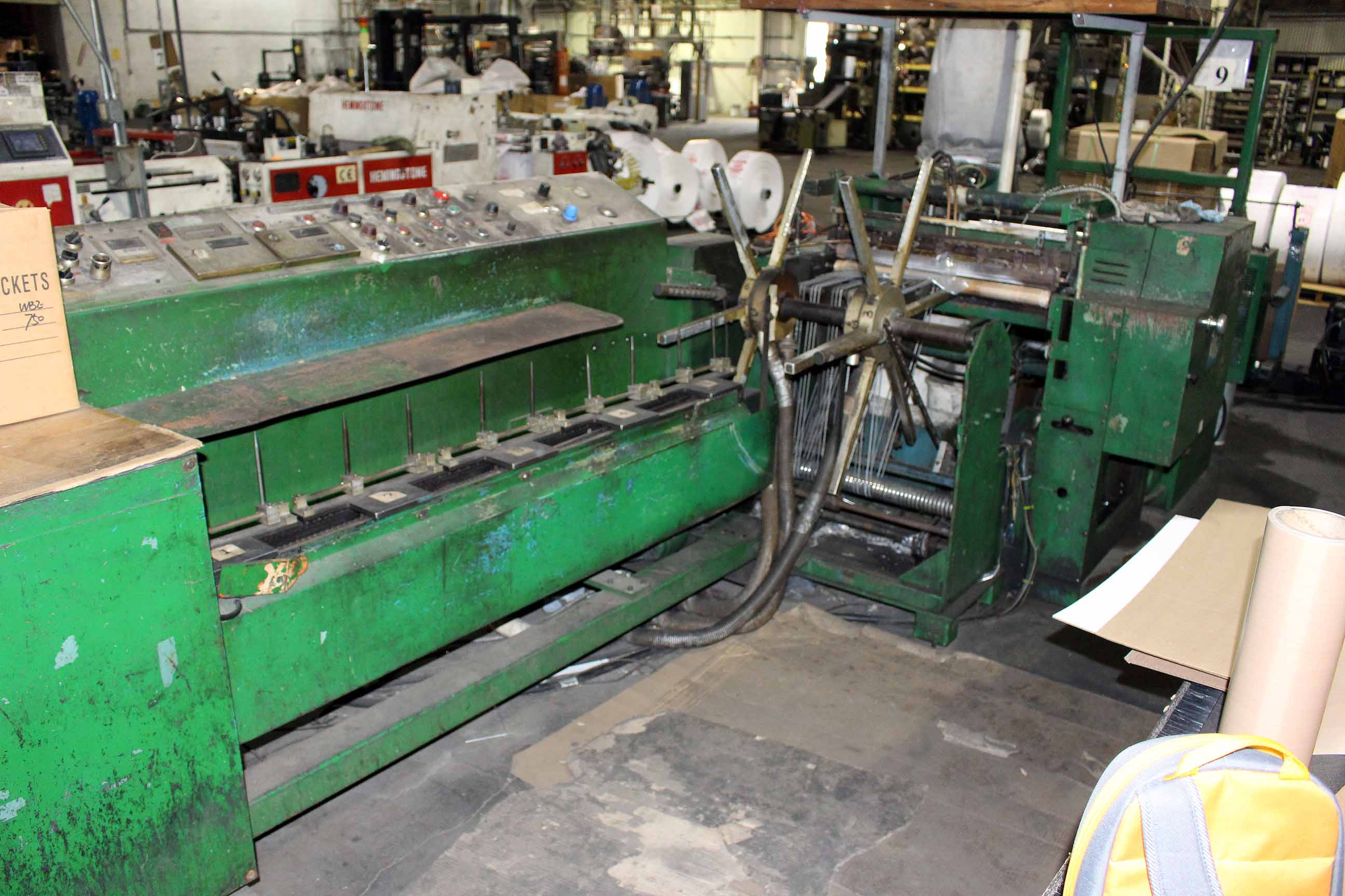 Lot 13 - WICKETER BAG MACHINE, GN PACKAGING EQUIPMENT (Line #9)