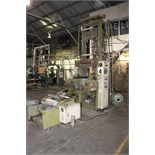 "Lot 3 - BLOWN FILM BAG EXTRUSION LINE, consisting of: Kung Hsing Mdl. 45 Extruder, 15 HP motor, 12"" ring, 45"