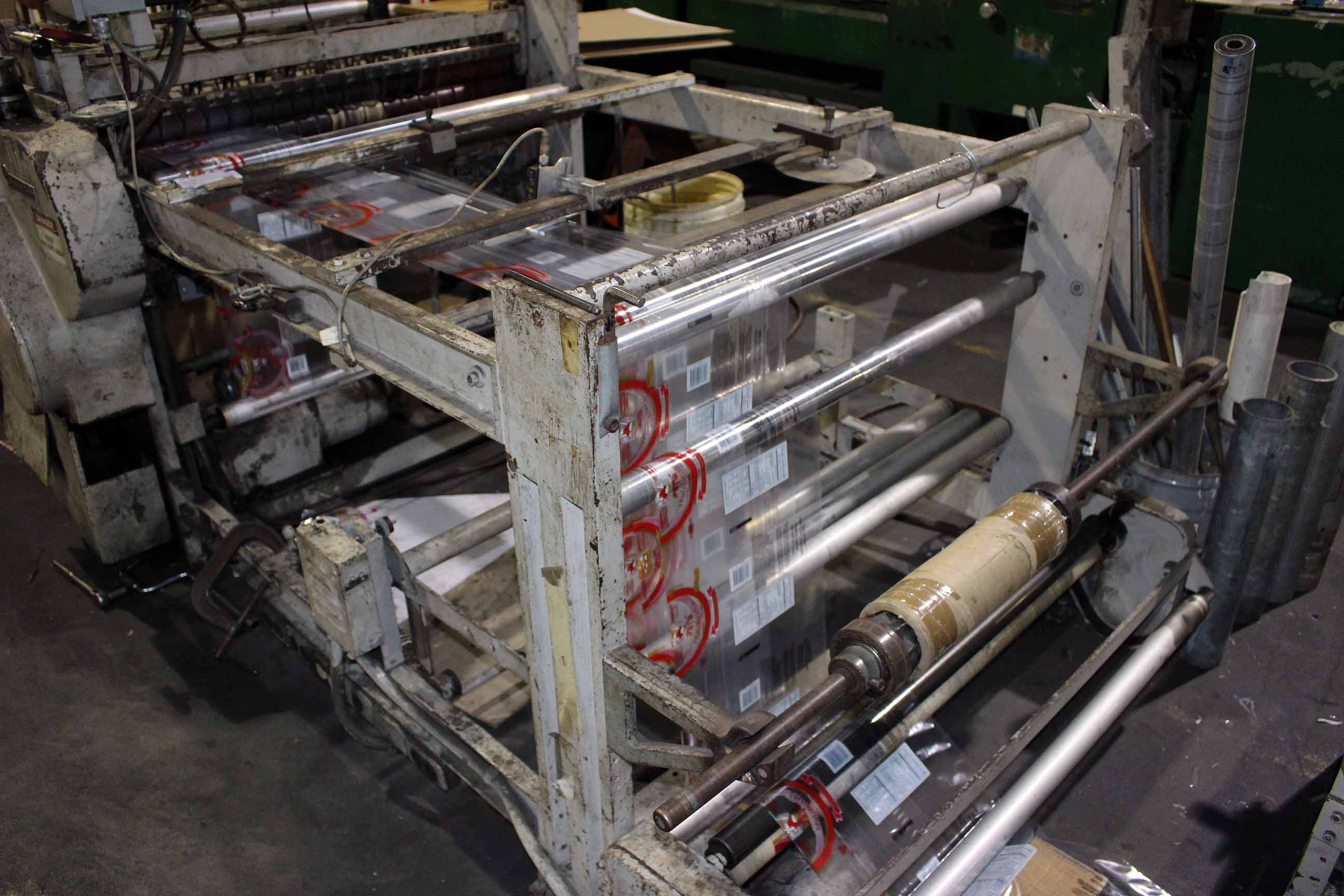 Lot 11 - SIDE/WELD BAG MACHINE, GT SCHJELDAHL MDL. 108-41-SP, S/N GS1340 (Line #10)