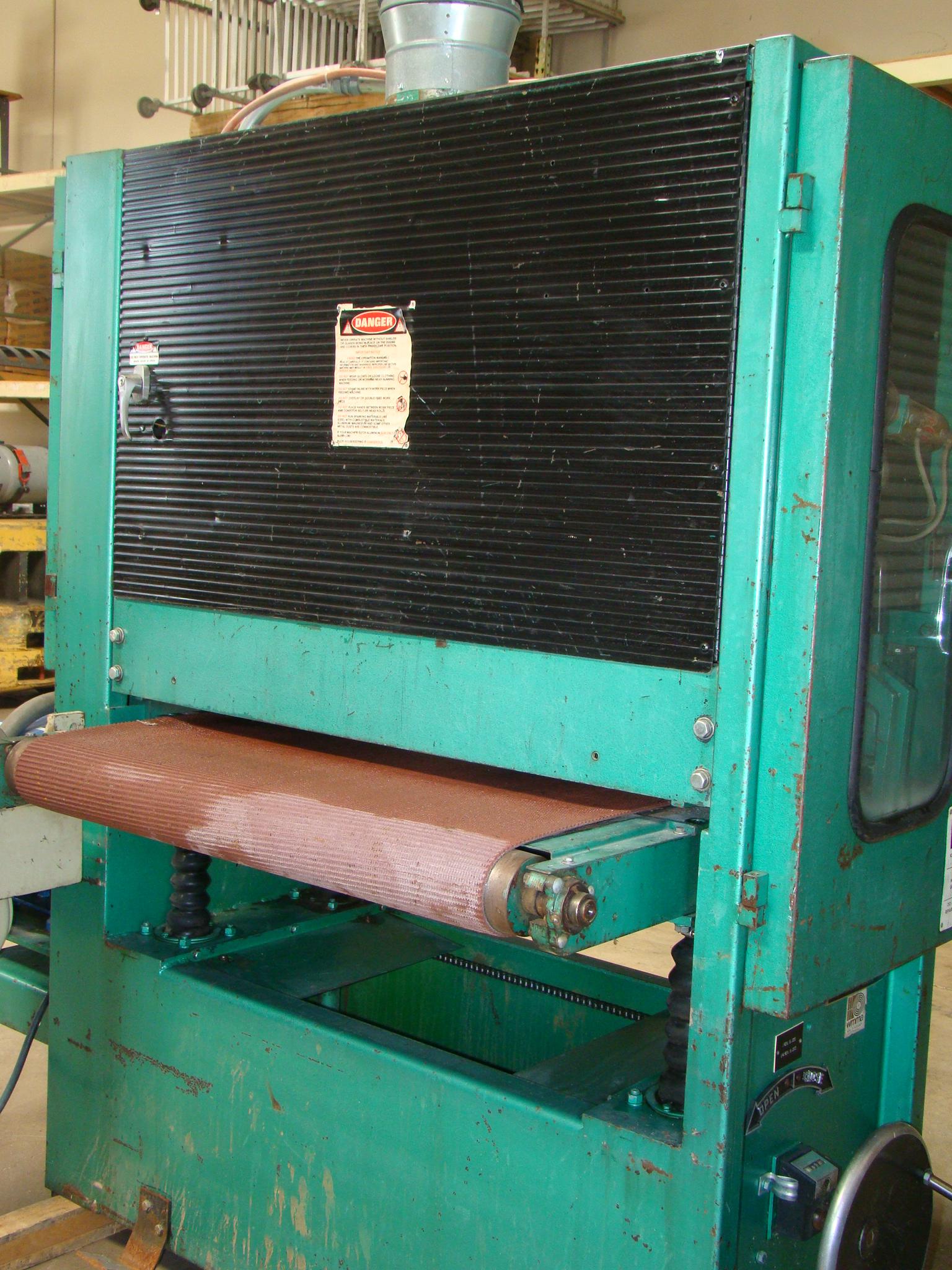 """Time Saver Speedbelt 37"""" Sander Model 237-1A 40 HP 230/460 Volt 3PH - Image 8 of 12"""
