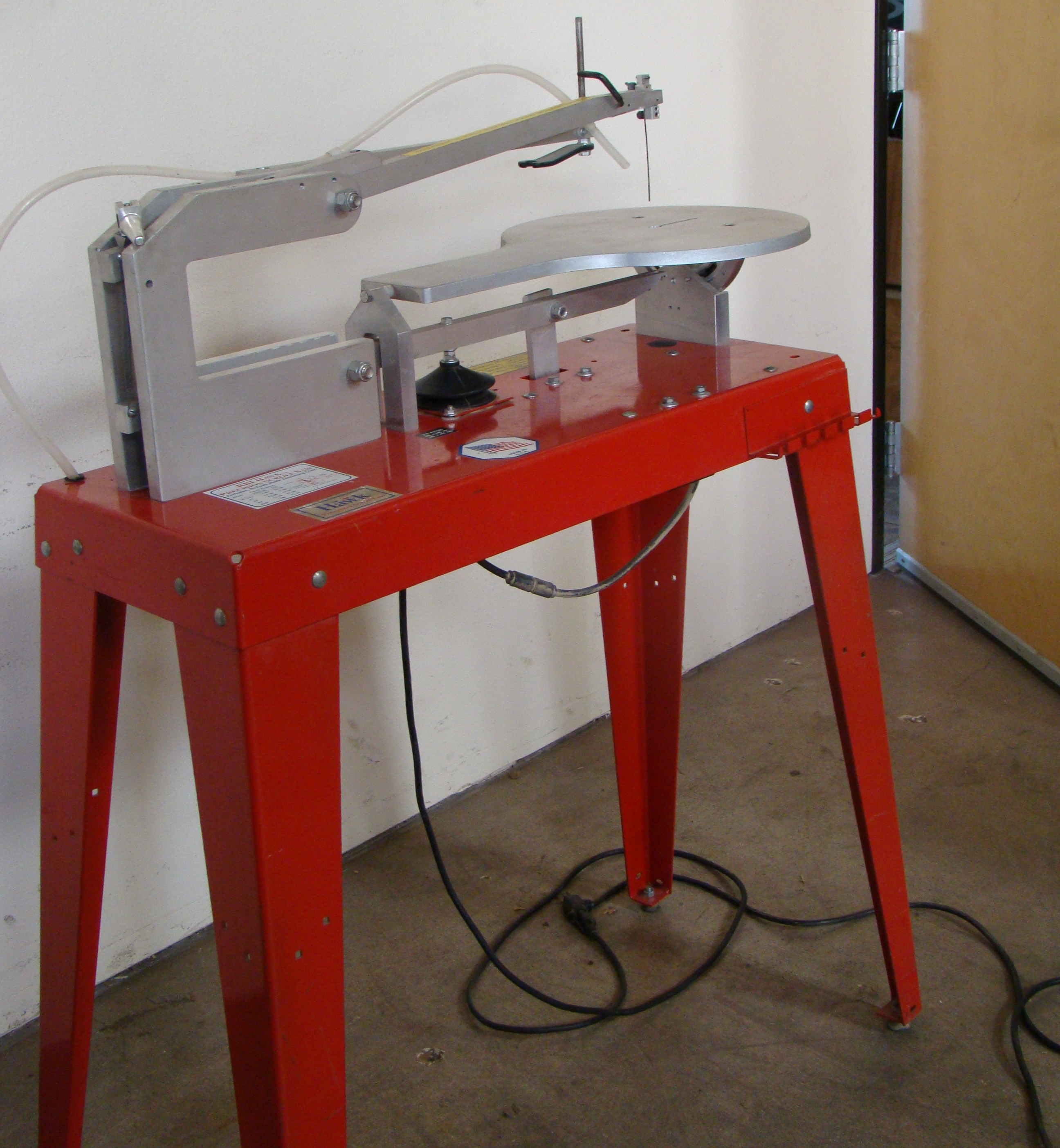 RBI Hawk Precision Scroll Saw Model 226VS 115 Volt - Image 2 of 8