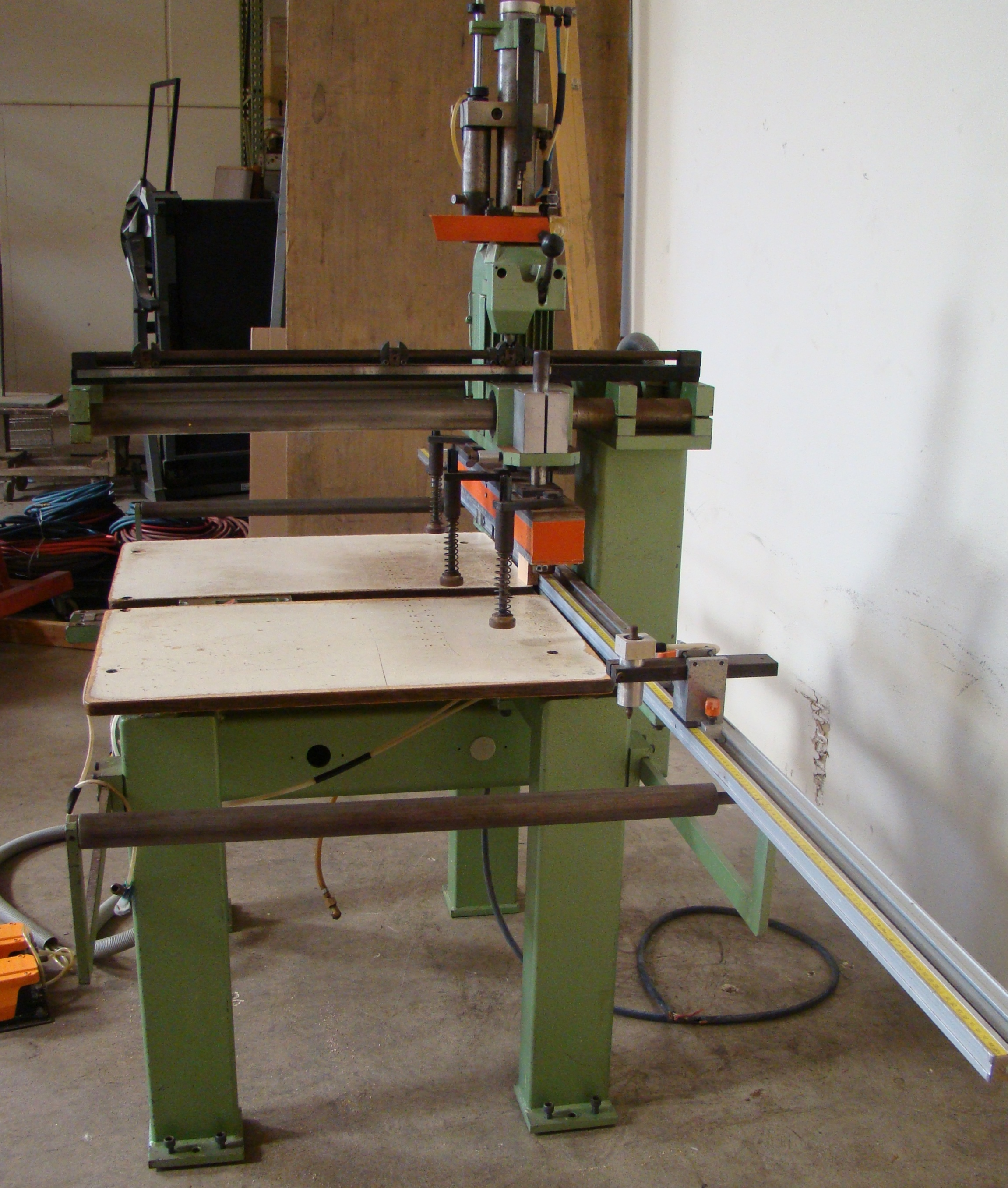 Ayen 21 Spindle Pneumatic Line Boring Machine with foot pedal, 230/460 Volt 3PH - Image 9 of 9