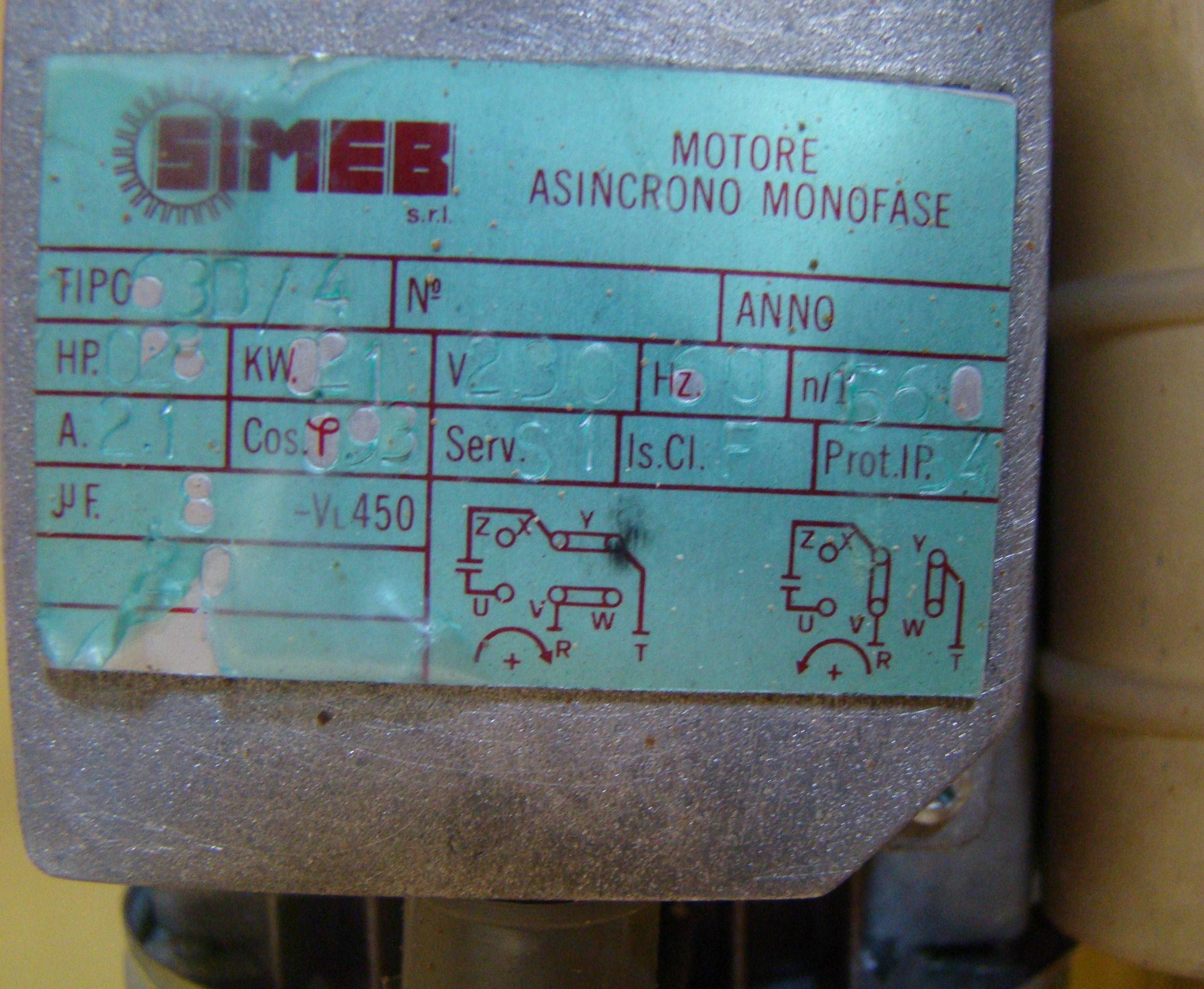 "SCMI Mini-Max 6"" Stroke Sander & Dust Collector Model #EE1500 230 Volt 1PH - Image 6 of 7"