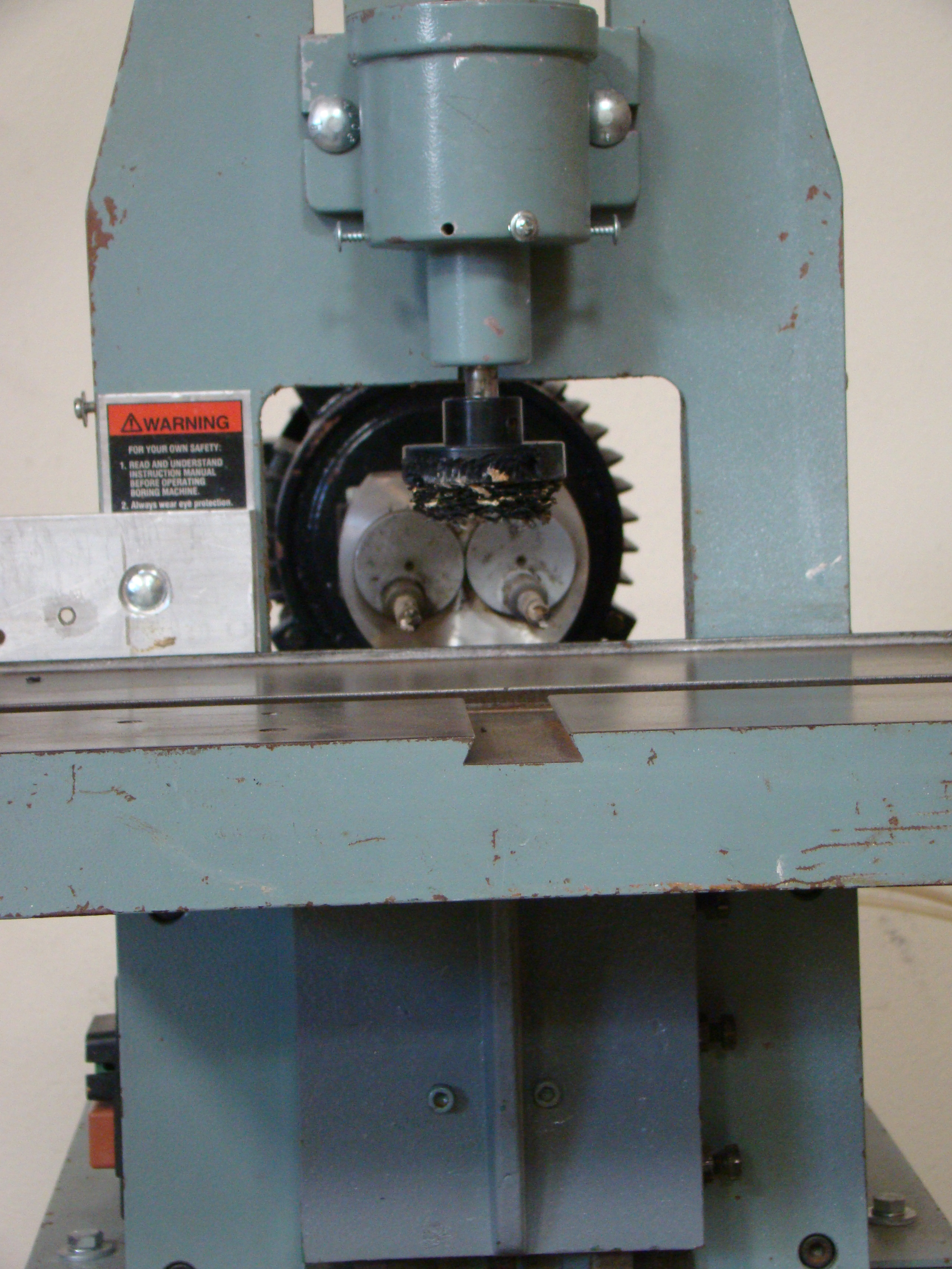 Delta Horizontal 2 Spindle Boring Machine Model #32-350, 1 HP 115/230 Volt - Image 5 of 6