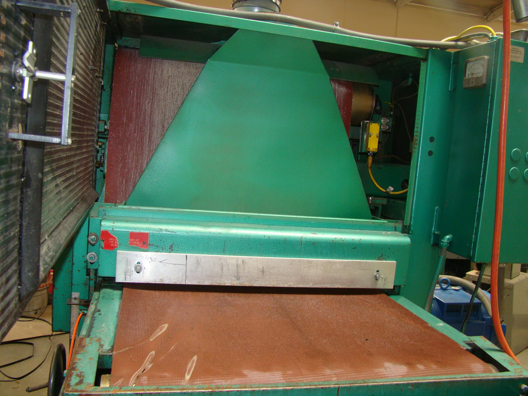 """Time Saver Speedbelt 37"""" Sander Model 237-1A 40 HP 230/460 Volt 3PH - Image 3 of 12"""