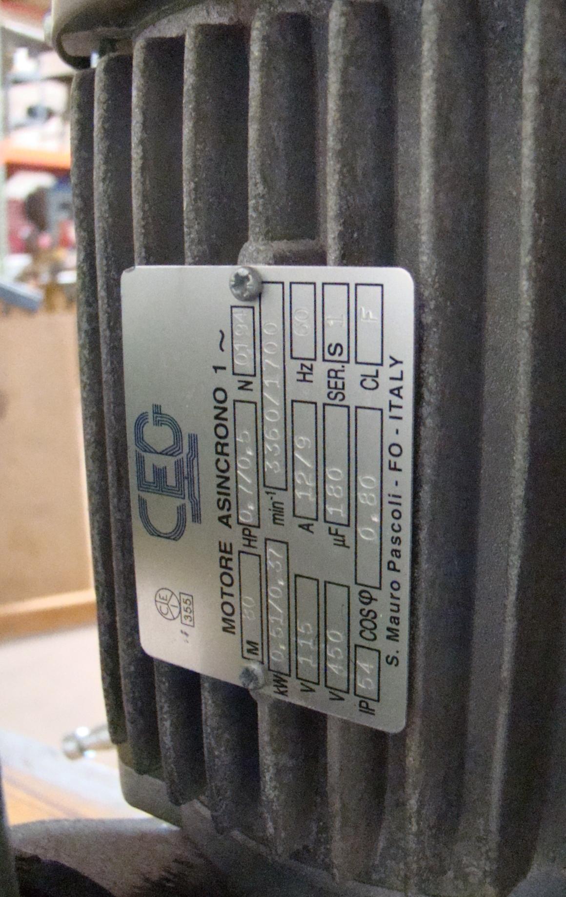 Maggi 4 Wheel Power Feeder Model STEFF 2044 115 Volt 1PH - Image 4 of 6