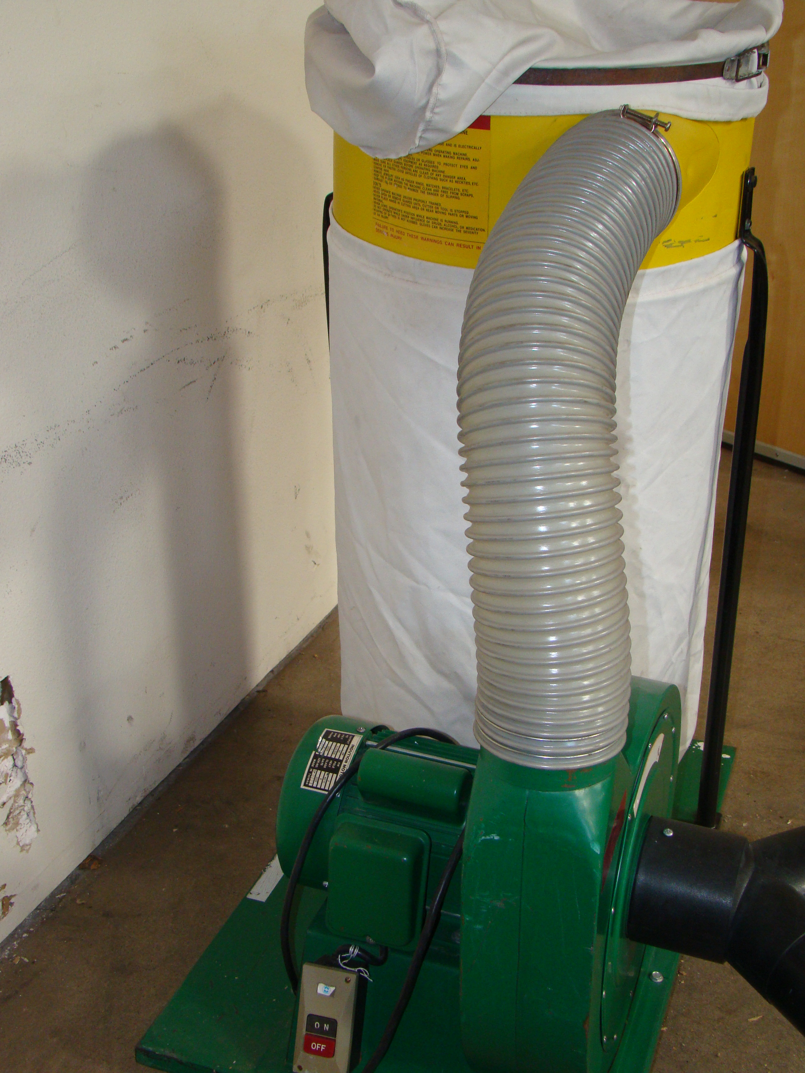 Woodtek Dust Collector 102023 1.5 HP 115/230V 1PH - Image 2 of 6