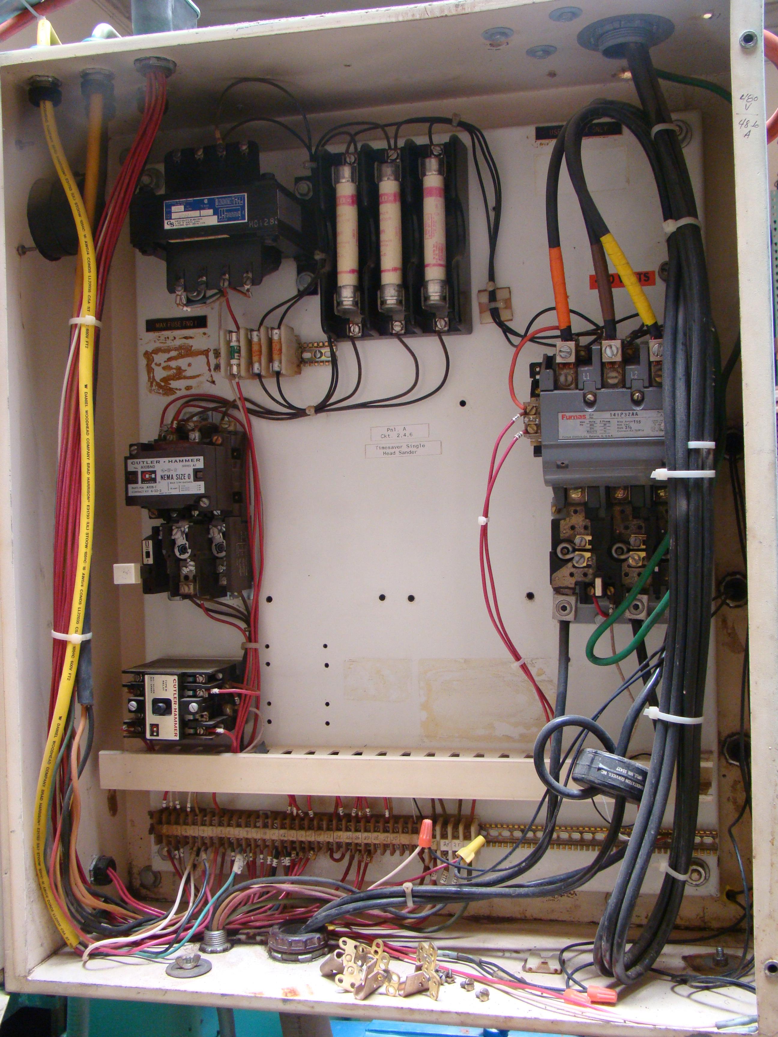 """Time Saver Speedbelt 37"""" Sander Model 237-1A 40 HP 230/460 Volt 3PH - Image 11 of 12"""