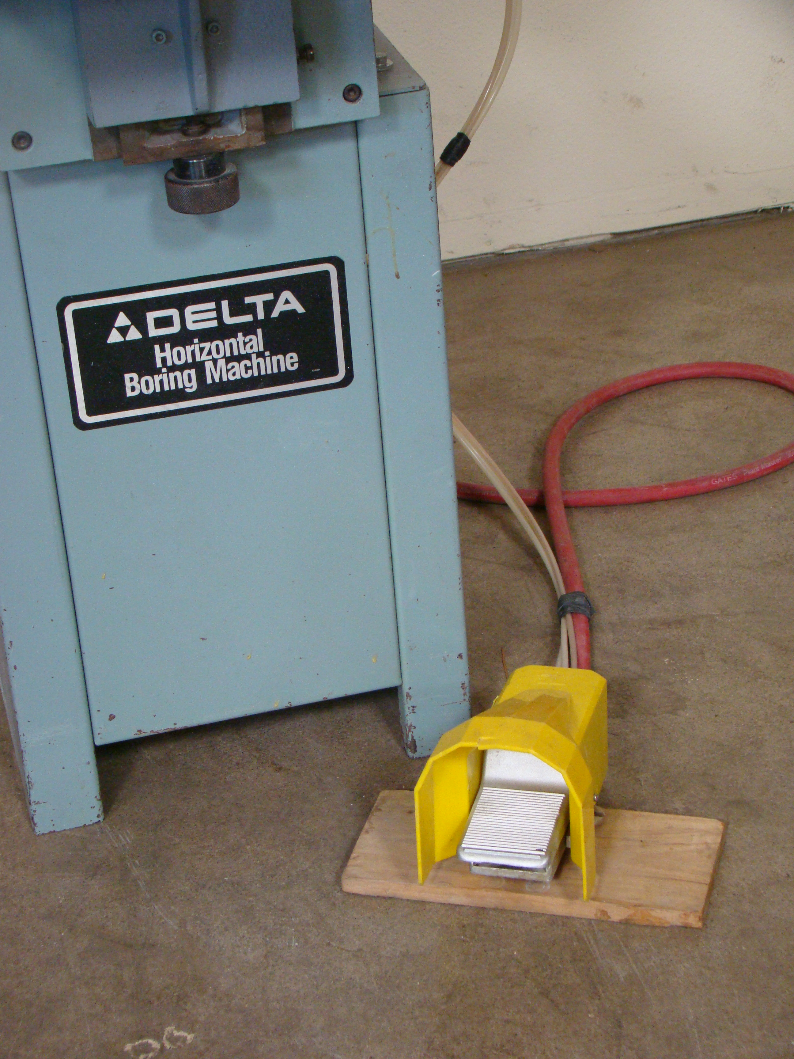 Delta Horizontal 2 Spindle Boring Machine Model #32-350, 1 HP 115/230 Volt - Image 4 of 6