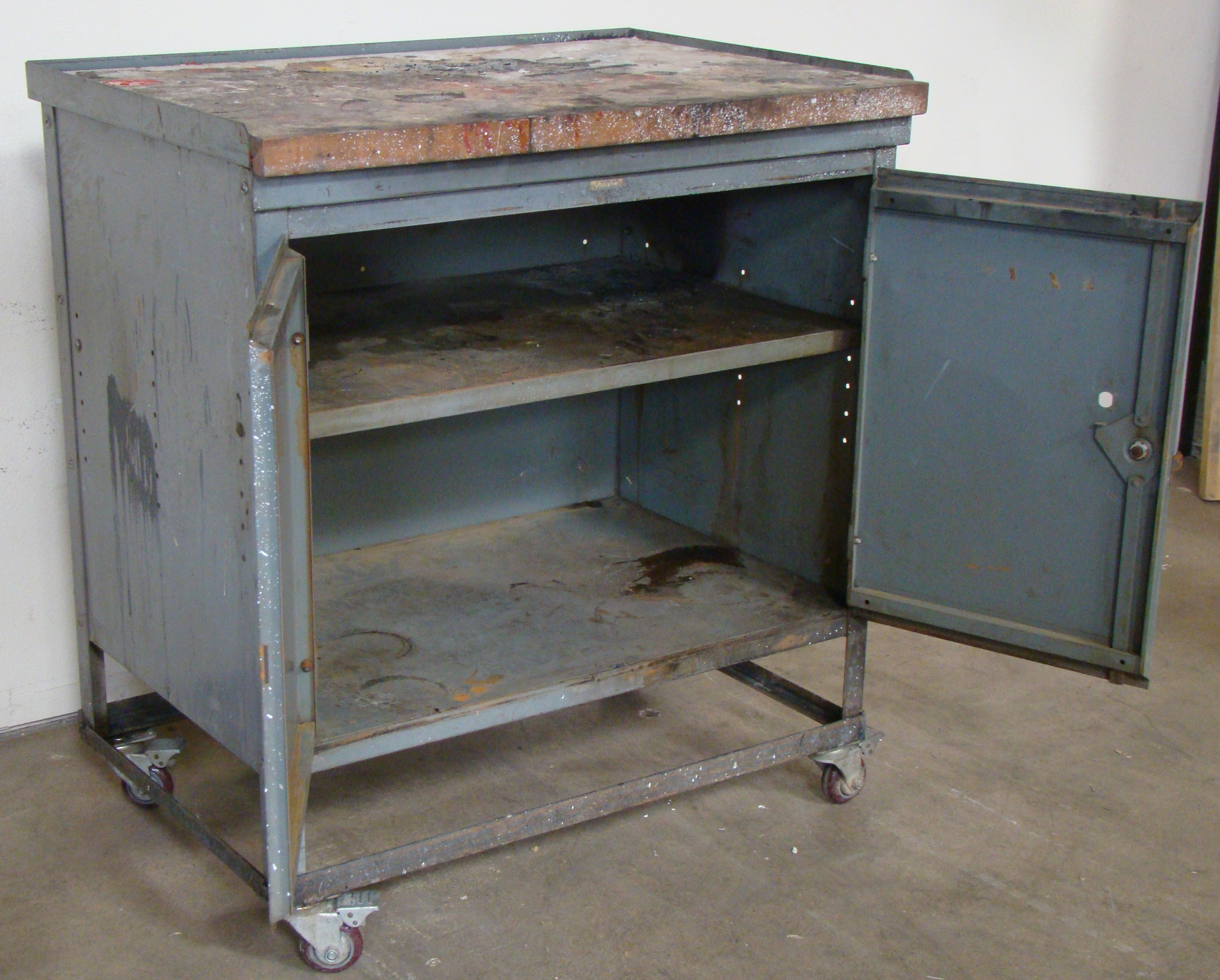 """Rolling Storage Cabinet 40""""h x 36""""w x 25""""d - Image 4 of 6"""
