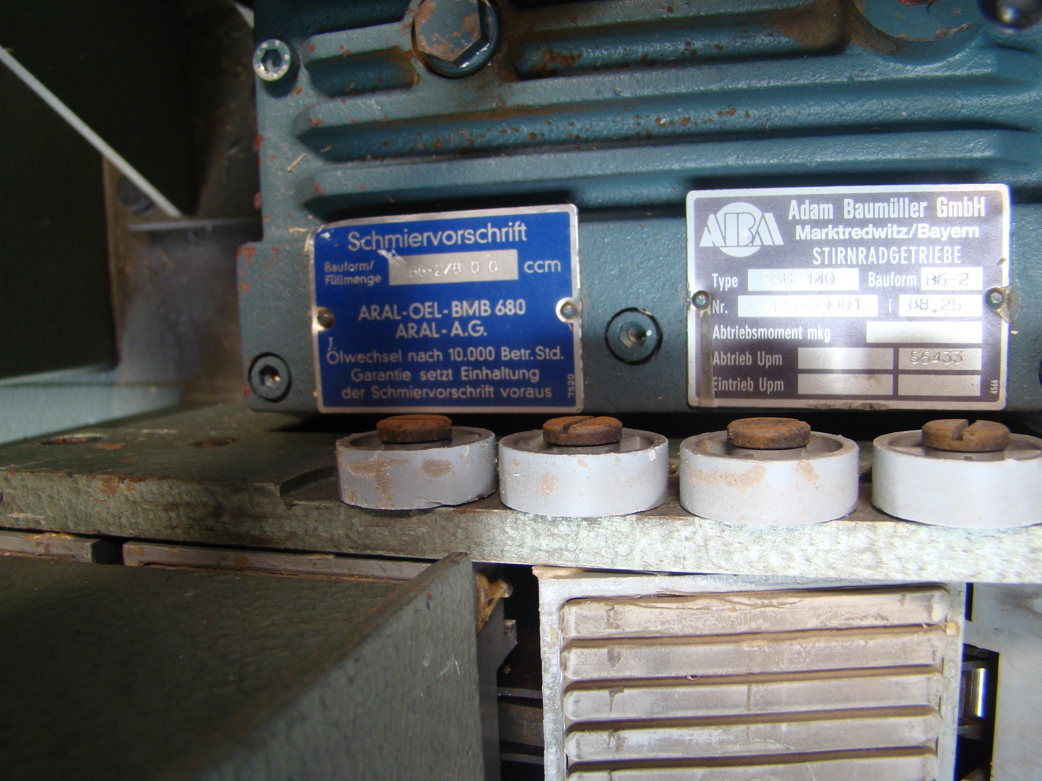 Holz-Her Edge Bander 1408 Pressure Roller, Uses GluJet, End trim stations, Flush/Bevel Scraper, - Image 9 of 10