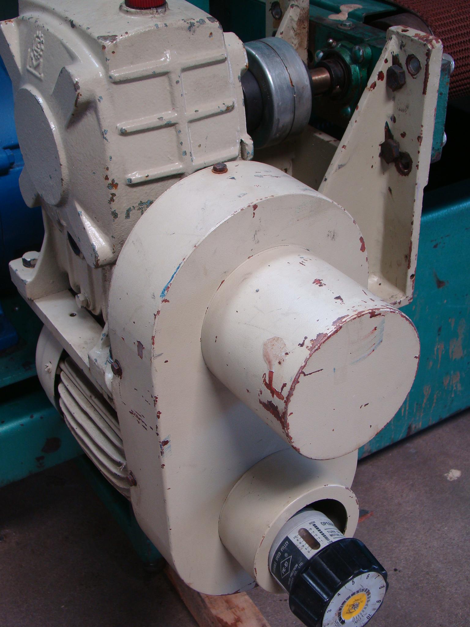 """Time Saver Speedbelt 37"""" Sander Model 237-1A 40 HP 230/460 Volt 3PH - Image 9 of 12"""