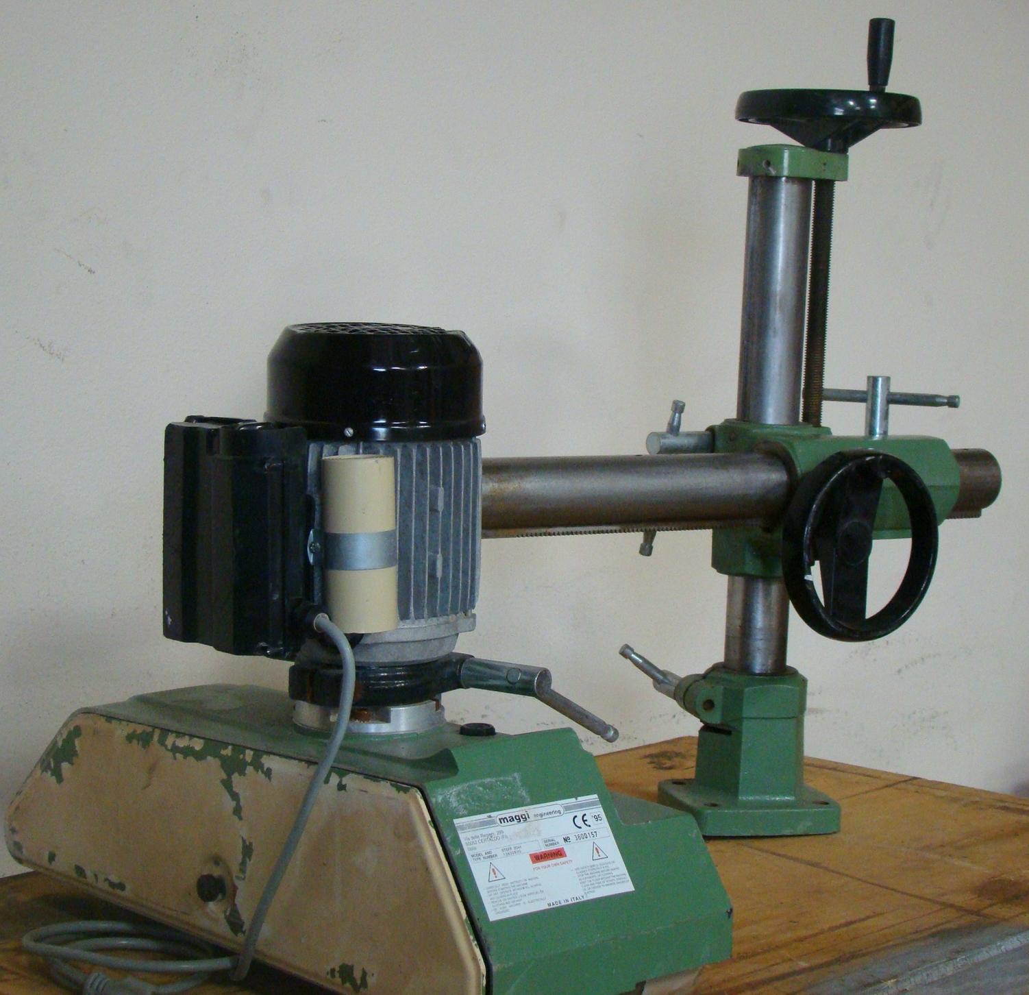 Maggi 4 Wheel Power Feeder Model STEFF 2044 115 Volt 1PH - Image 2 of 6