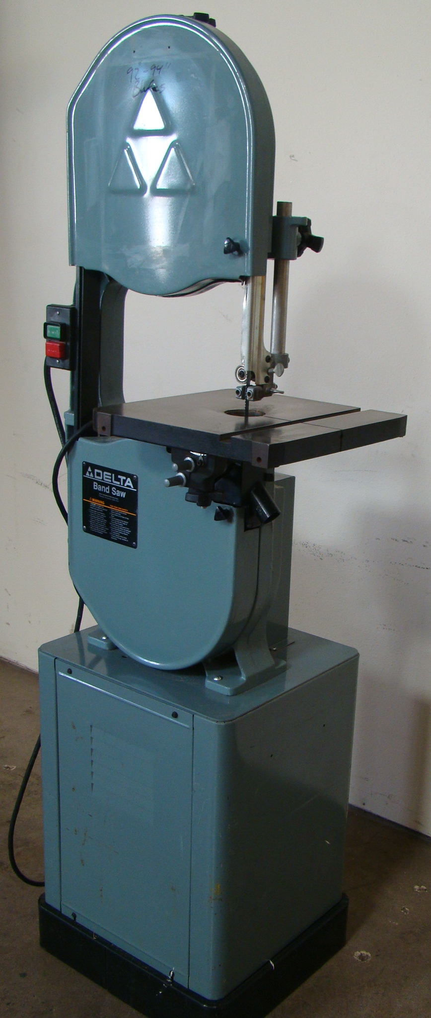 "Delta 14"" Band Saw 28-203, 3/4HP, 115 Volt 1PH"