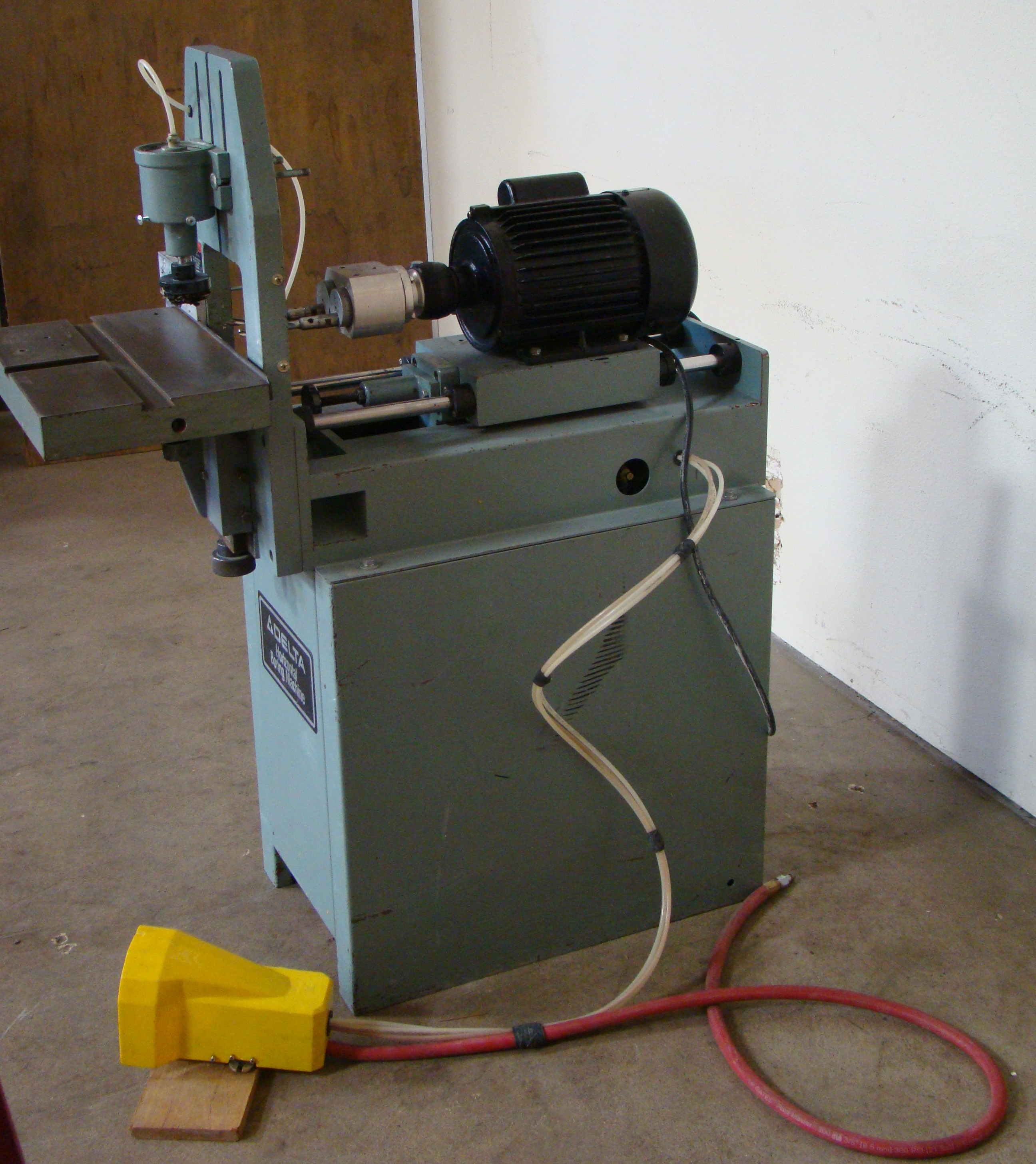 Delta Horizontal 2 Spindle Boring Machine Model #32-350, 1 HP 115/230 Volt - Image 3 of 6