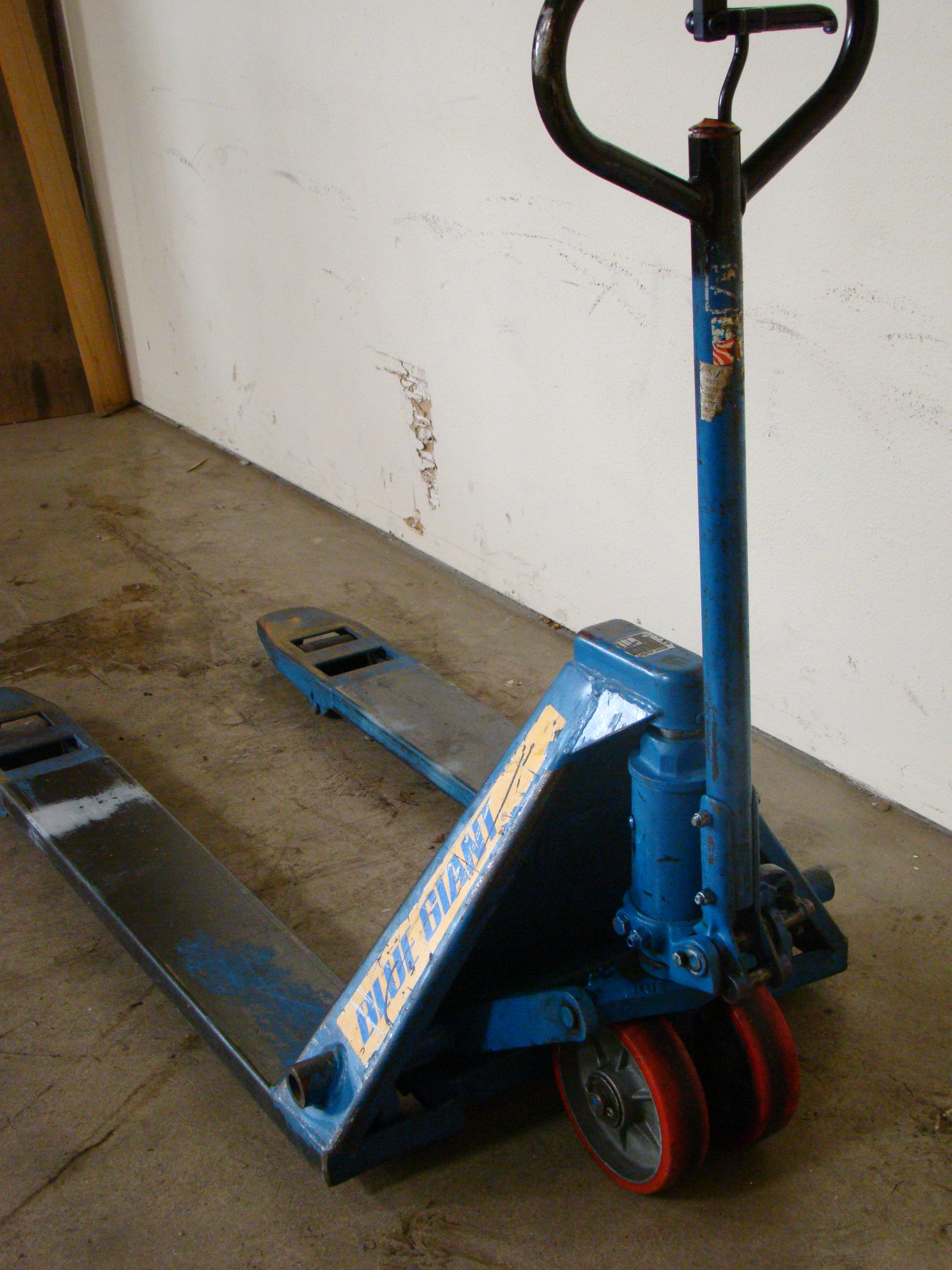 Blue Giant Pallet Jack, Model T50 - Image 3 of 4