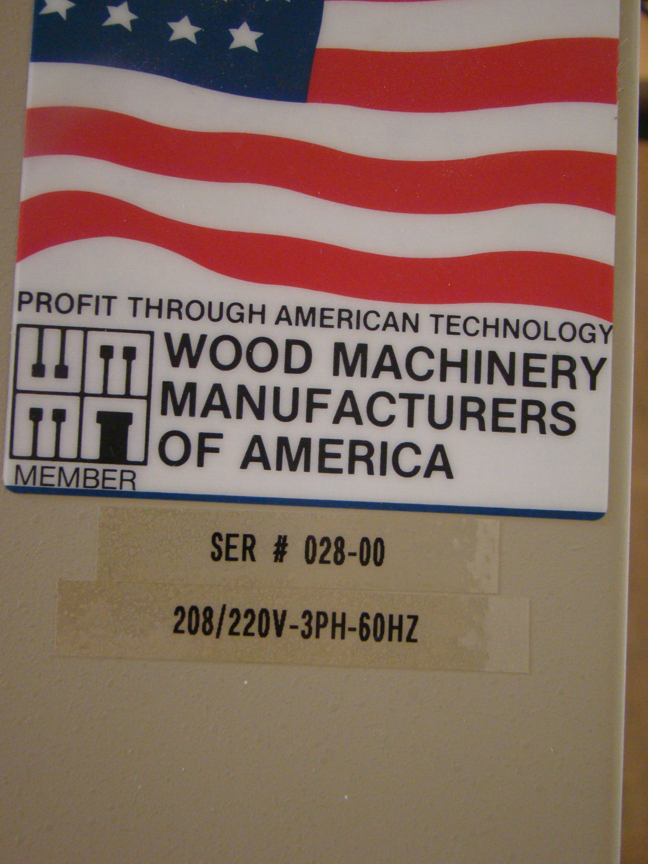 ACCU-Systems 366 Dowel Insertion Machine with Foot Pedal, Vibratory Bowl Feeders, Glue Pot 220 - Image 7 of 8