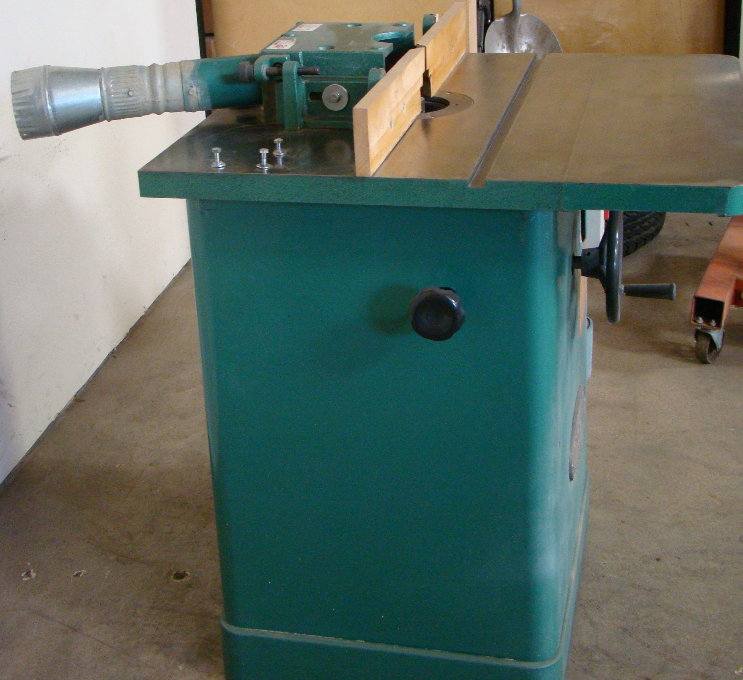 """Grizzly Wood Shaper 3/4"""" Spindle 3HP 230 Volt 1 PH - Image 2 of 4"""