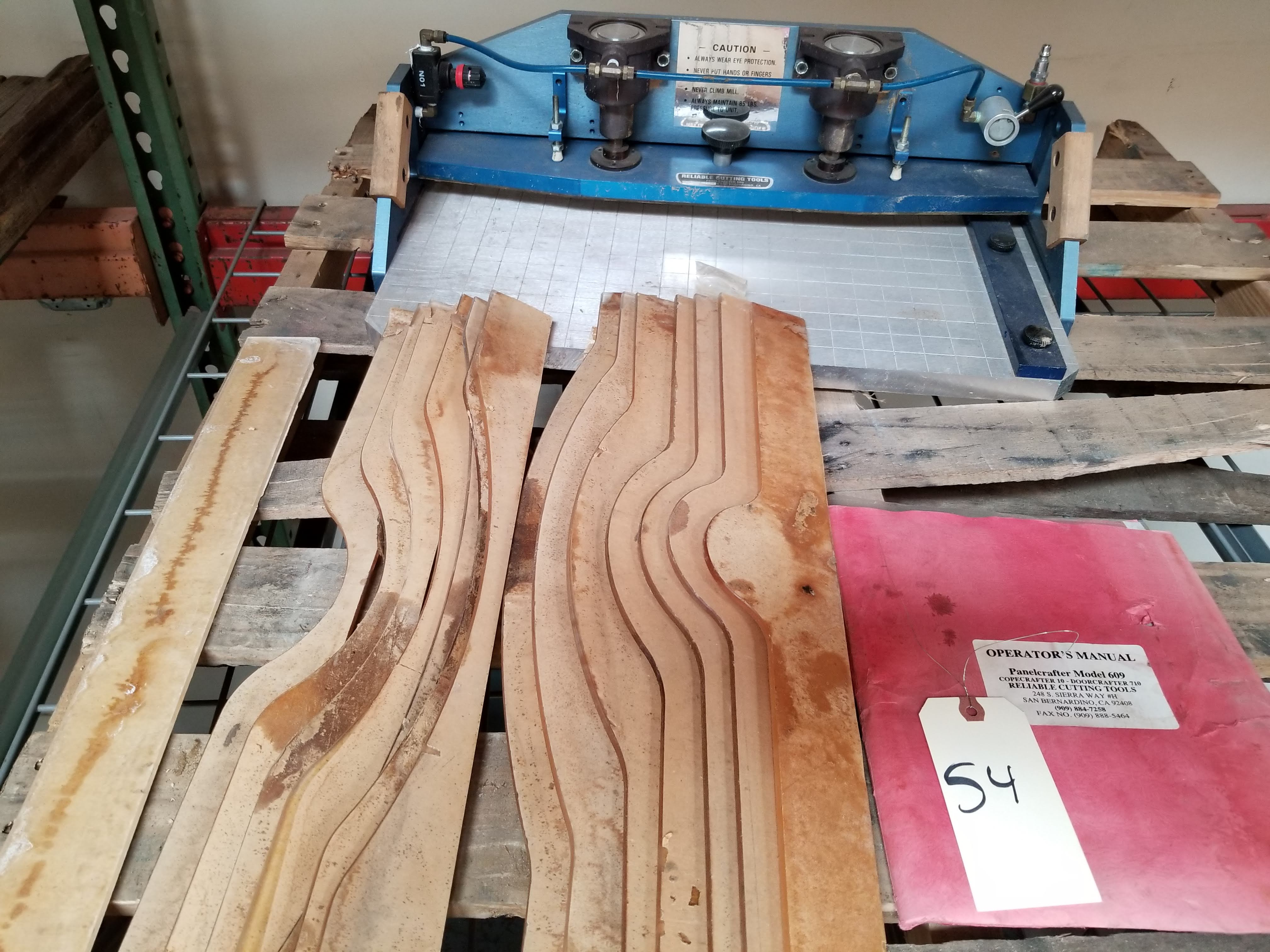 Reliable Cutting Tools Panelcrafter Model 609 with Templates