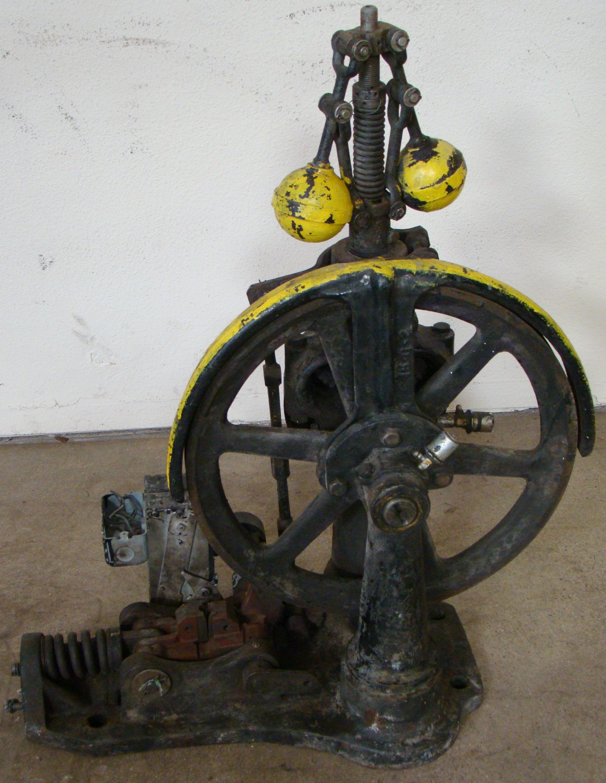 Antique Otis Elevator Safety Governor Brake, Cast Iron Brass Steampunk Carspeed, 700 FPM
