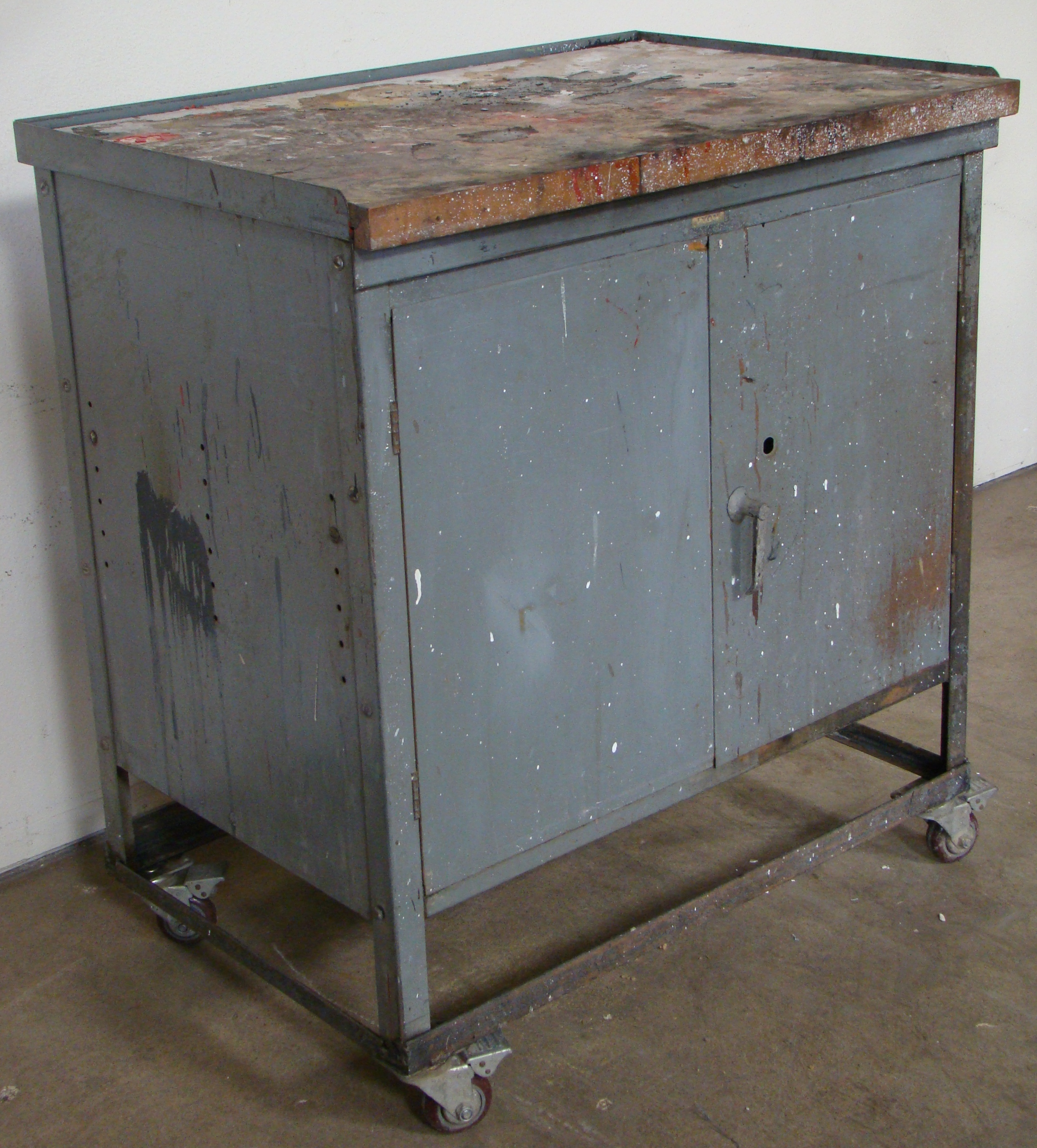 """Rolling Storage Cabinet 40""""h x 36""""w x 25""""d - Image 3 of 6"""