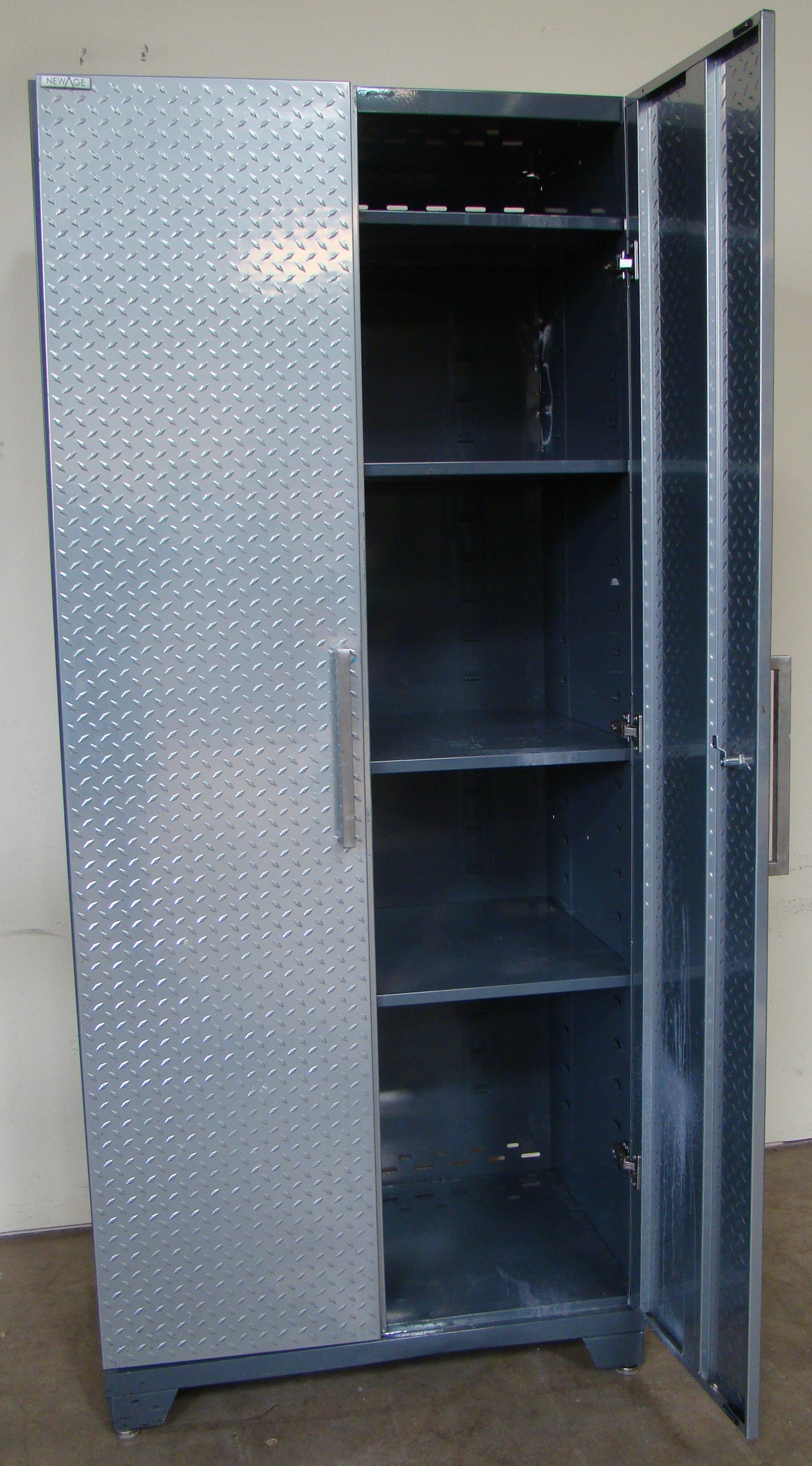 "New Age Storage Cabinet 83""h x 36""w x 24""d - Image 5 of 5"
