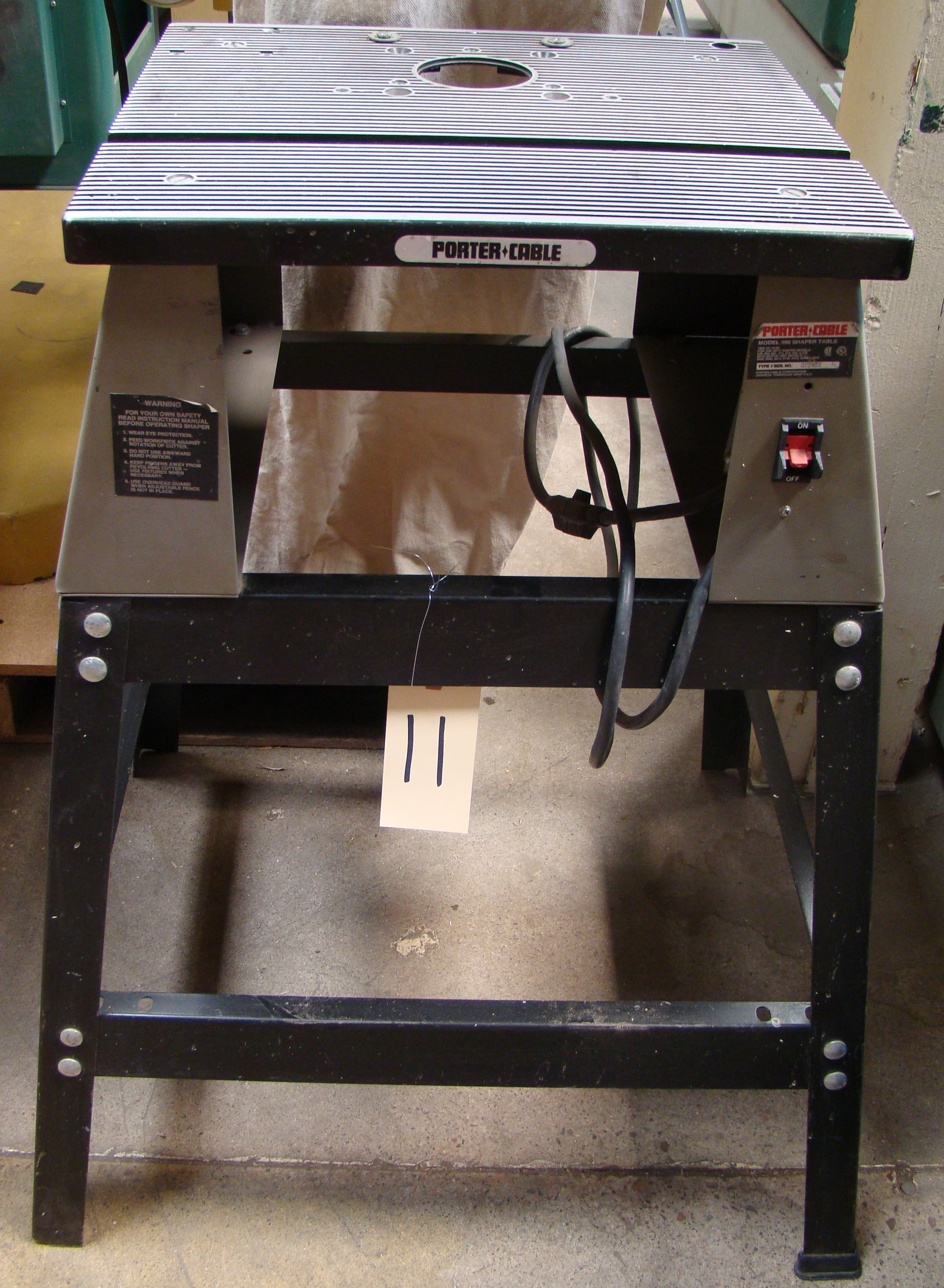 Porter Cable #6960 Router/Shaper Table and Stand only