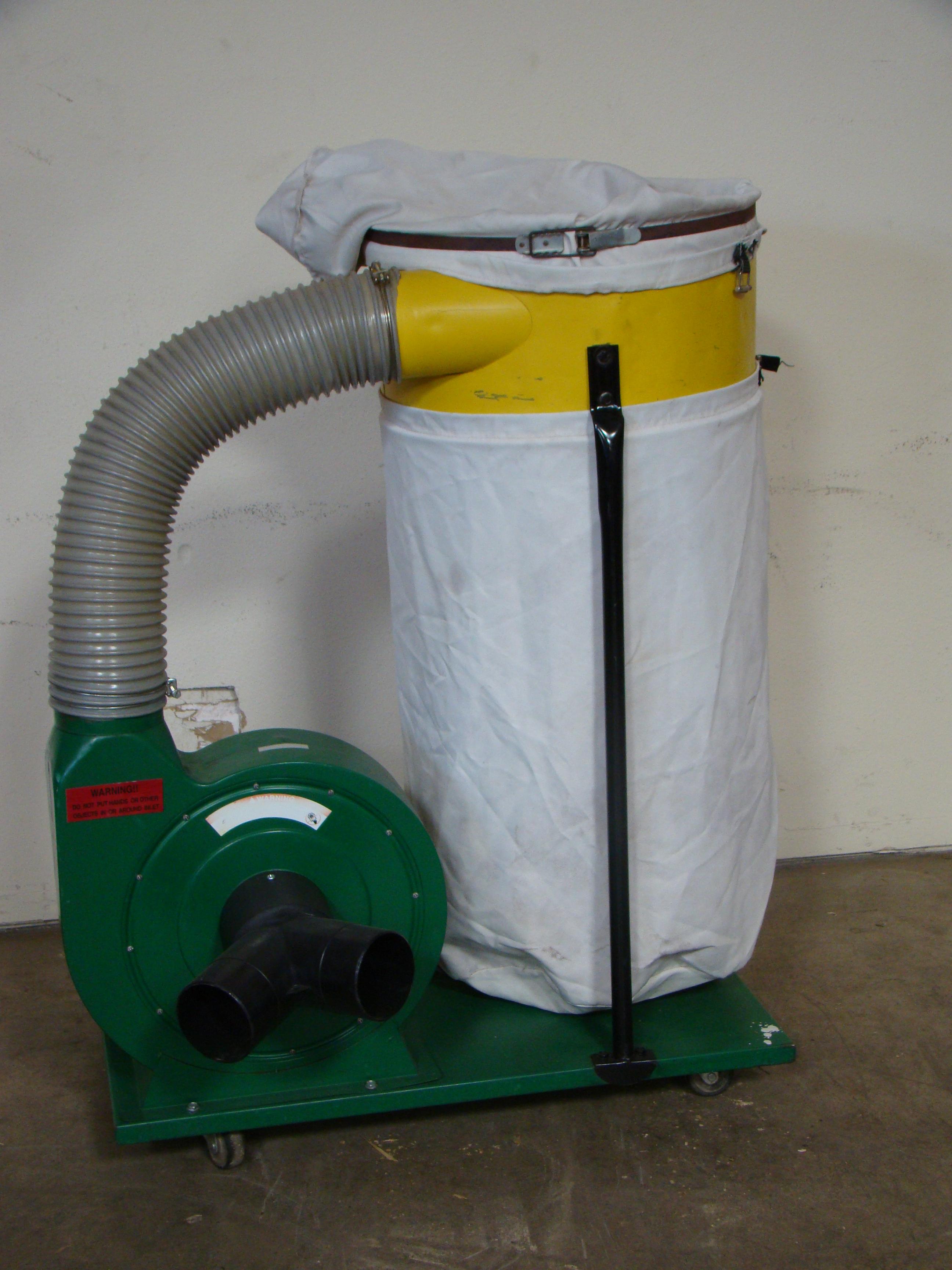 Woodtek Dust Collector 102023 1.5 HP 115/230V 1PH