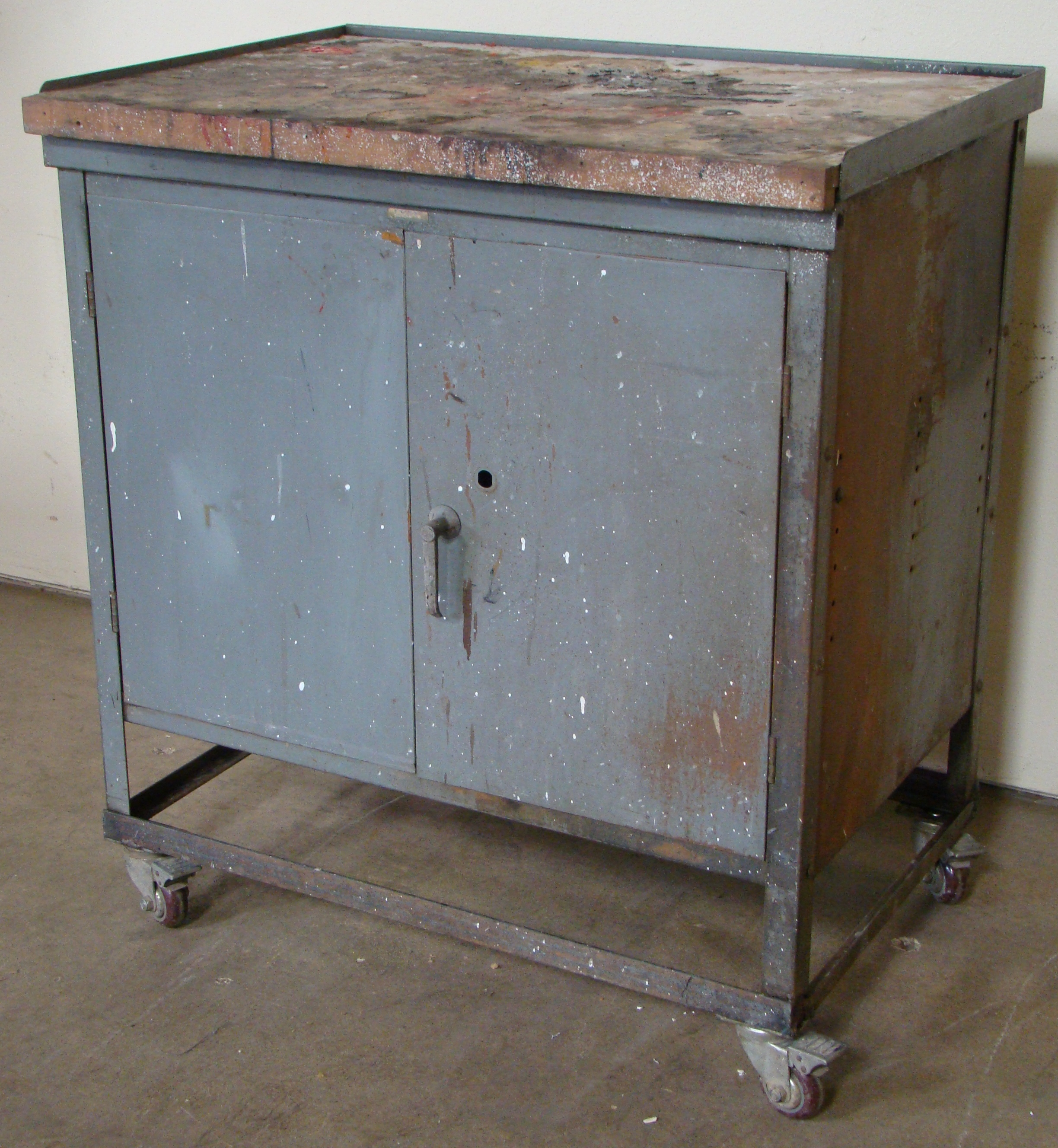 """Rolling Storage Cabinet 40""""h x 36""""w x 25""""d - Image 2 of 6"""