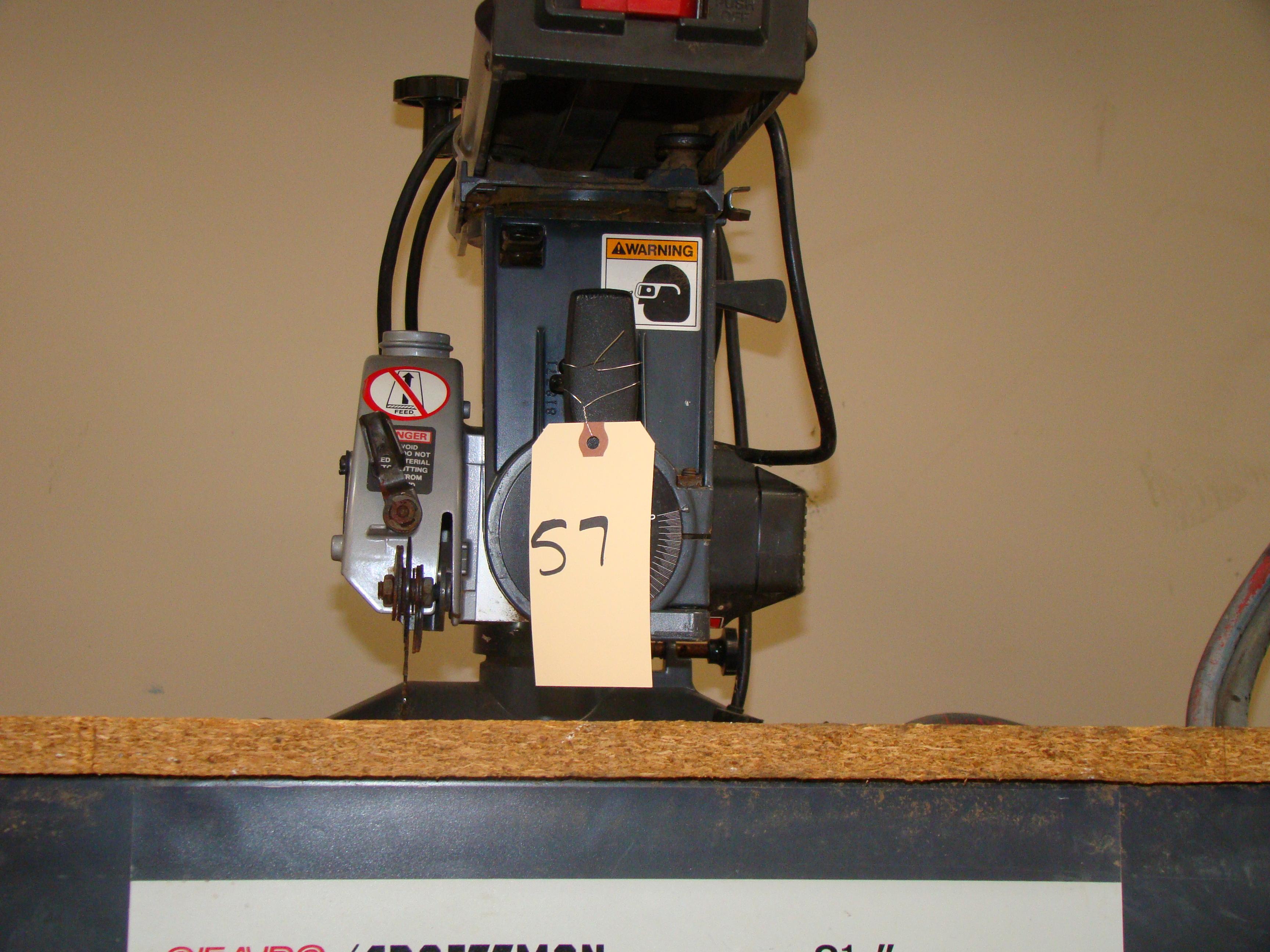 "Craftsman 8-1/4"" Radial Arm Saw 120 Volt - Image 4 of 5"