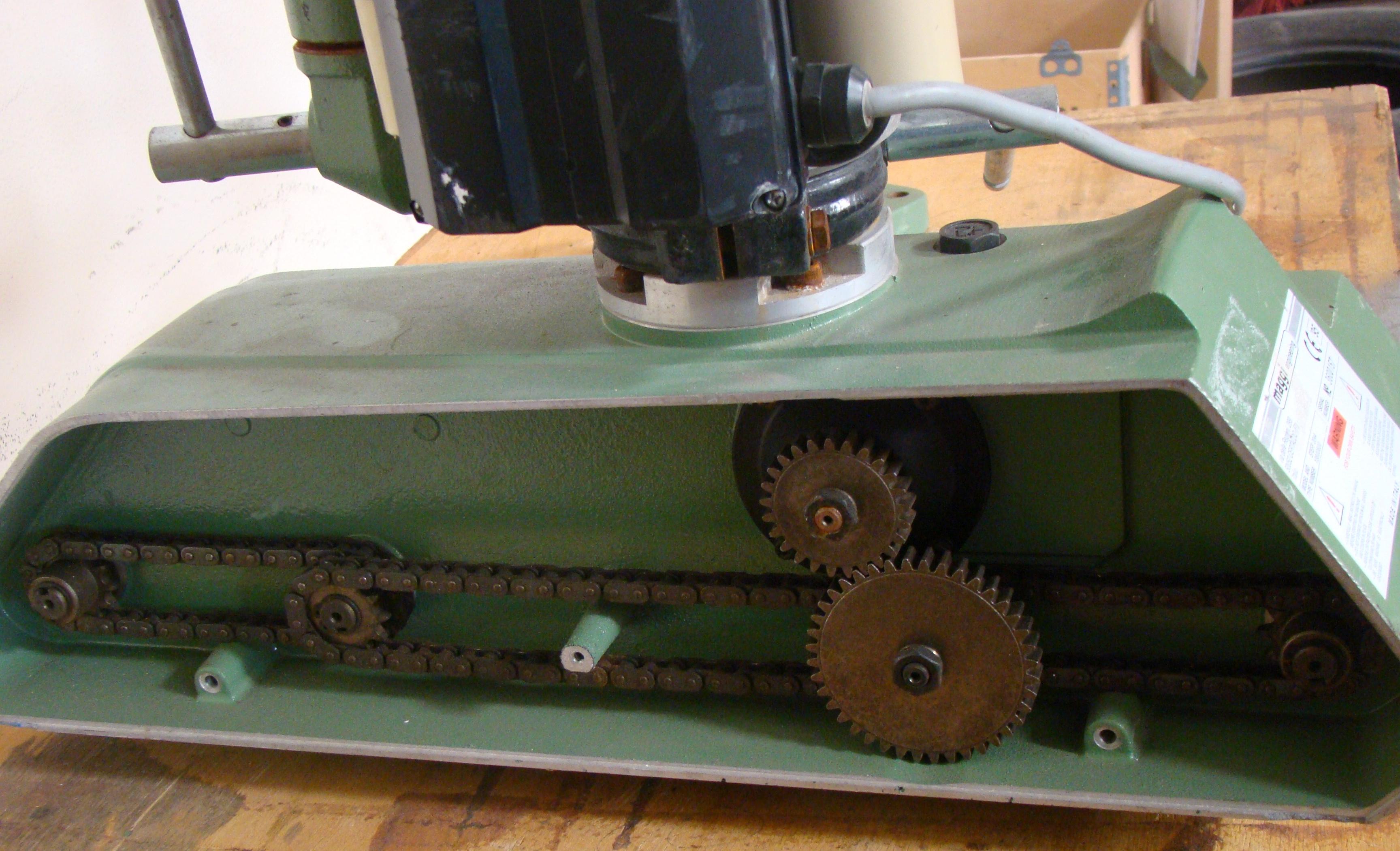 Maggi 4 Wheel Power Feeder Model STEFF 2044 115 Volt 1PH - Image 3 of 6