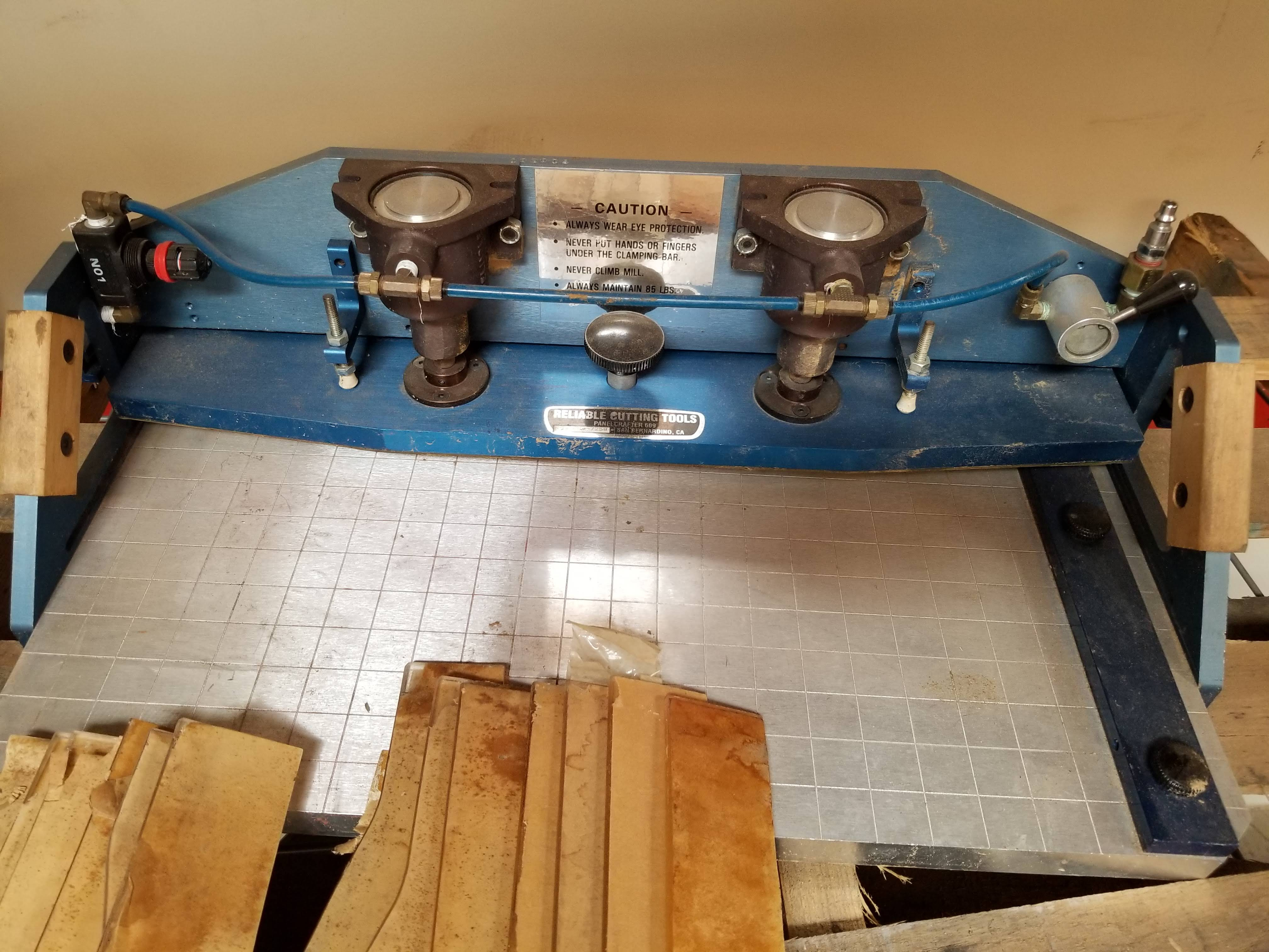 Reliable Cutting Tools Panelcrafter Model 609 with Templates - Image 2 of 4