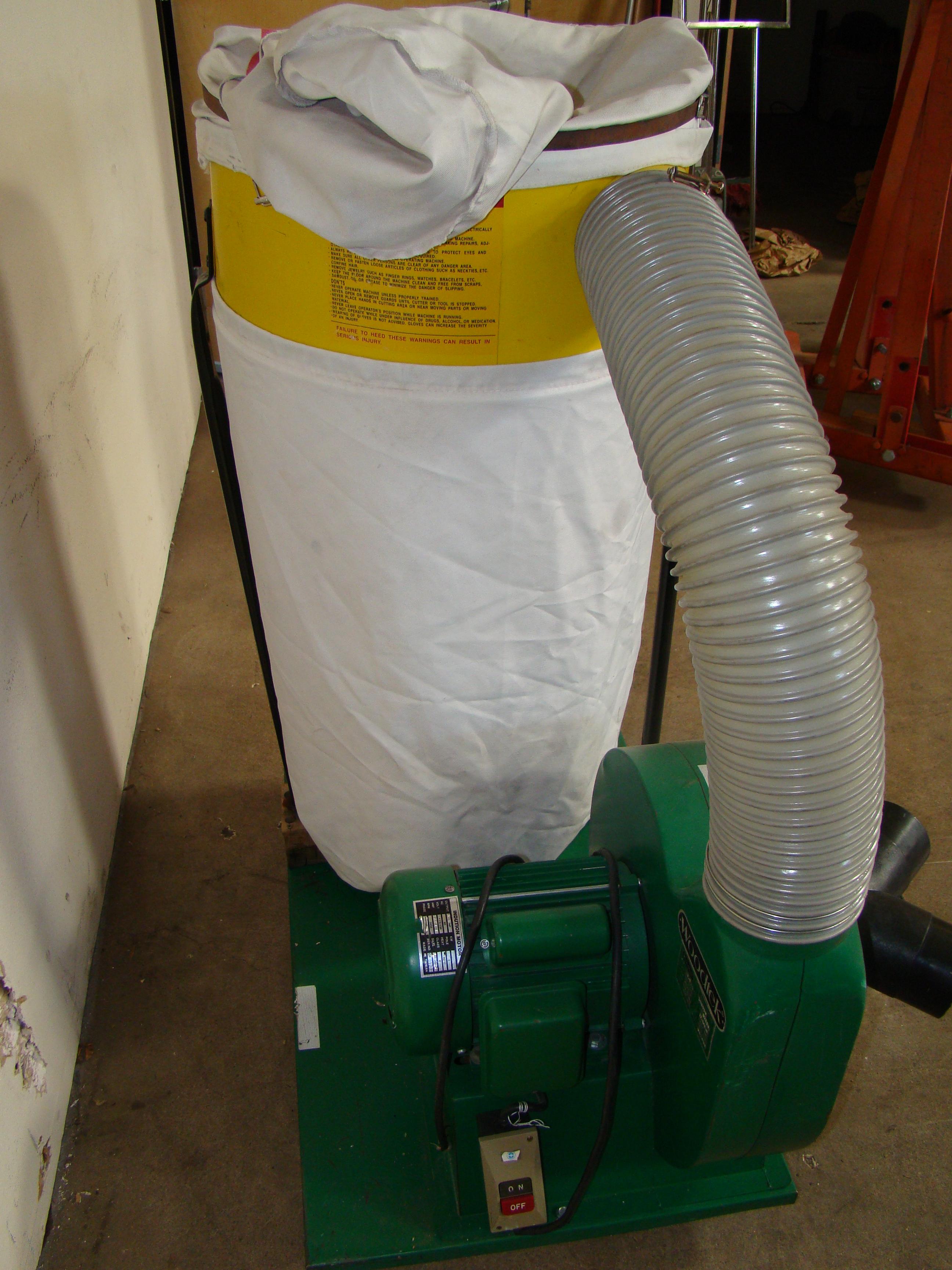 Woodtek Dust Collector 102023 1.5 HP 115/230V 1PH - Image 4 of 6