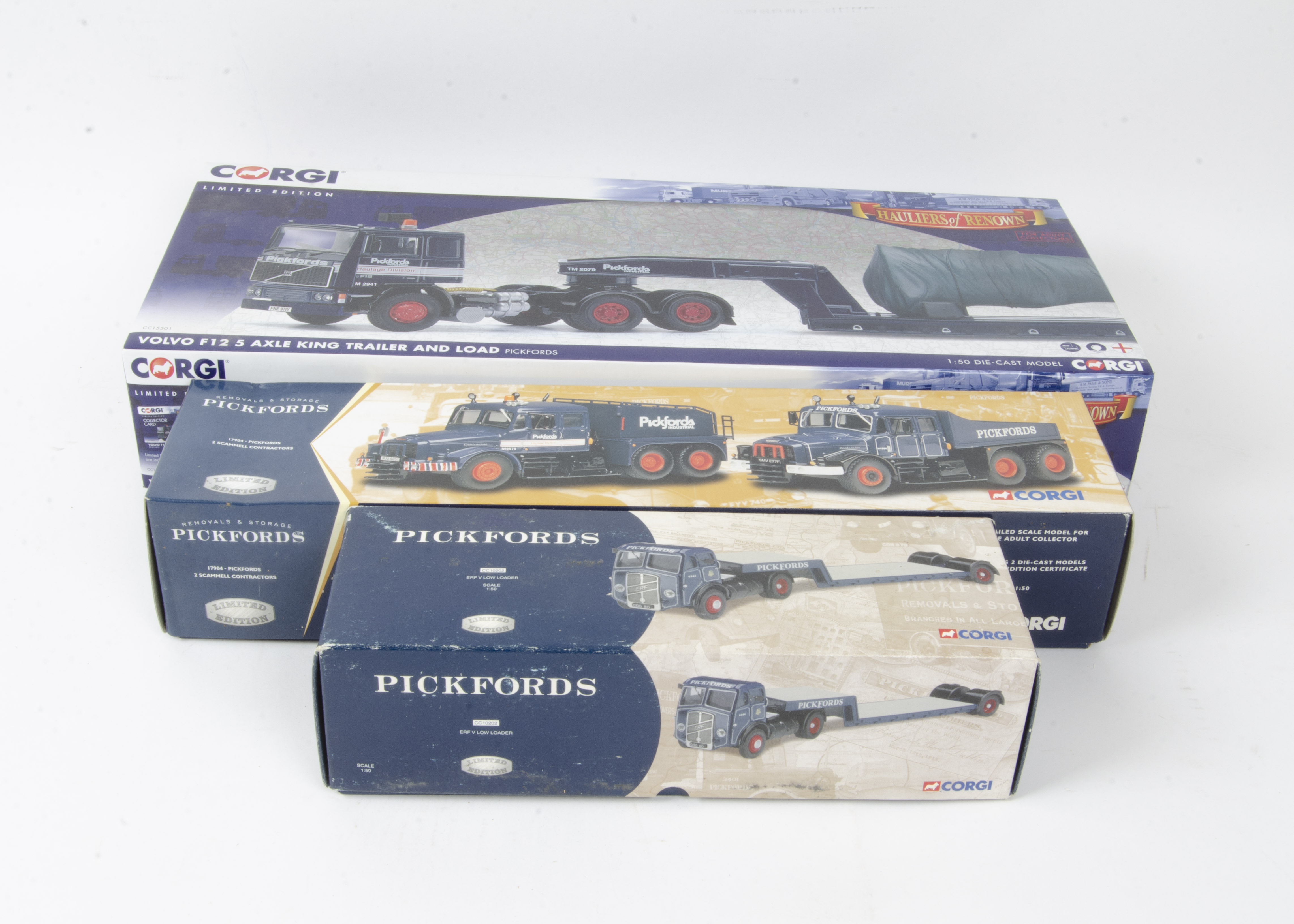 Corgi Classics Pickford's, a boxed collection some limited edition comprising CC12507 Atkinson