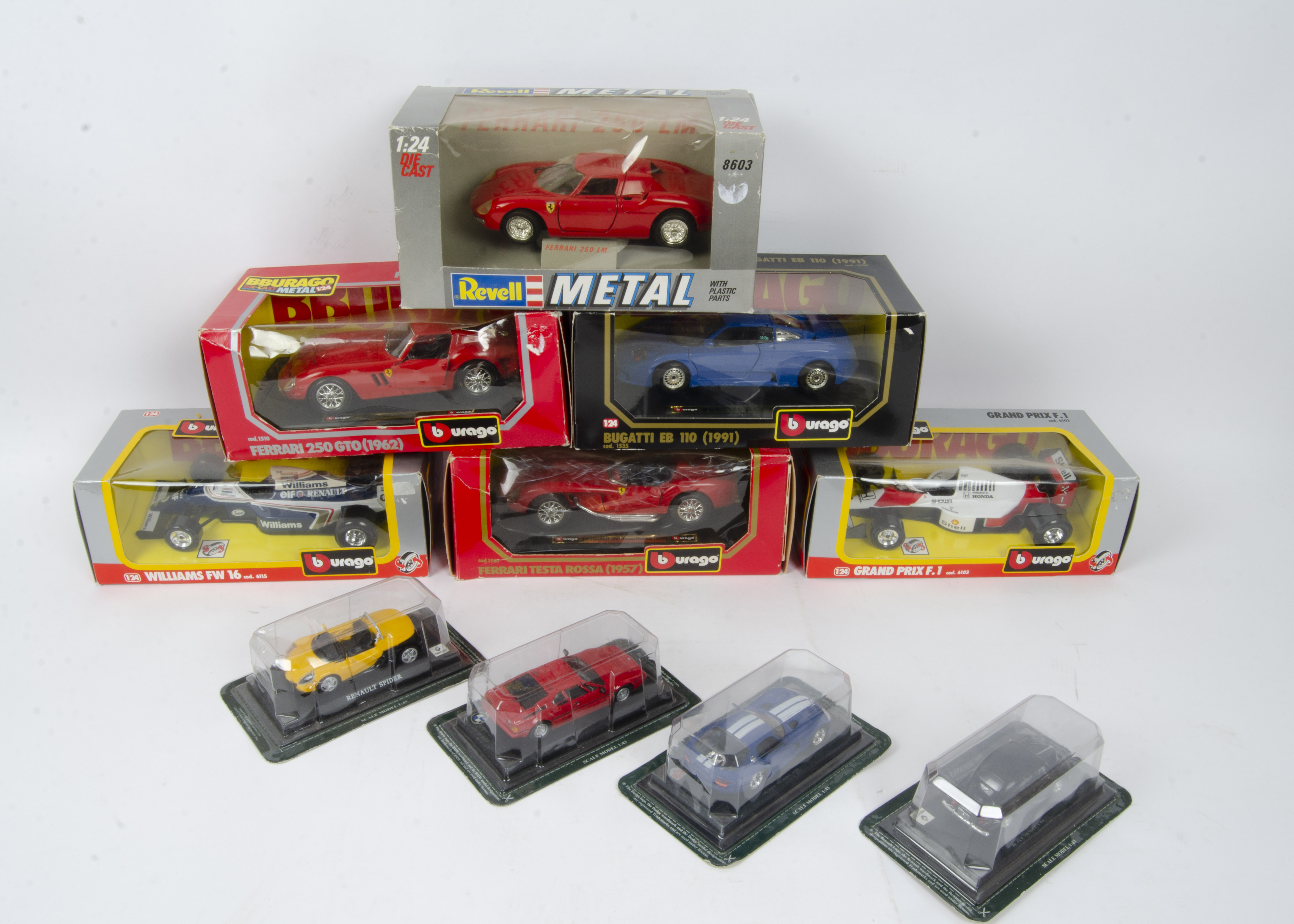 Modern Diecast 1:15 Scale and Smaller, a boxed collection of private and competition vehicles - Image 2 of 2