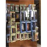 Oxford Diecast 1:43 and 1:18 Scale Models, a cased collection 1:43 scale all with card sleeves