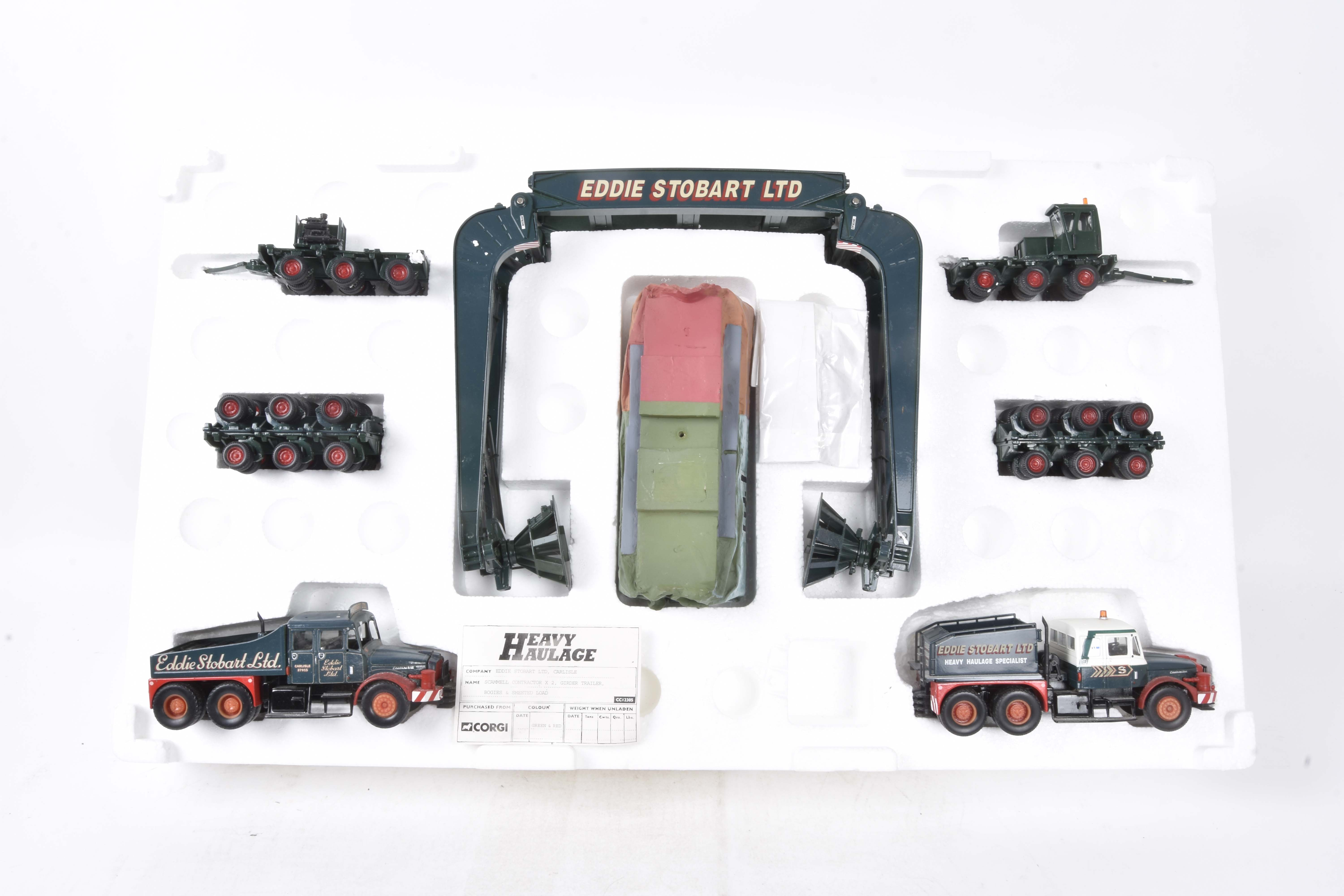 Corgi Classics Heavy Haulage, two sets (one minus outer box), boxed 18005 limited edition Pickford's - Image 2 of 2