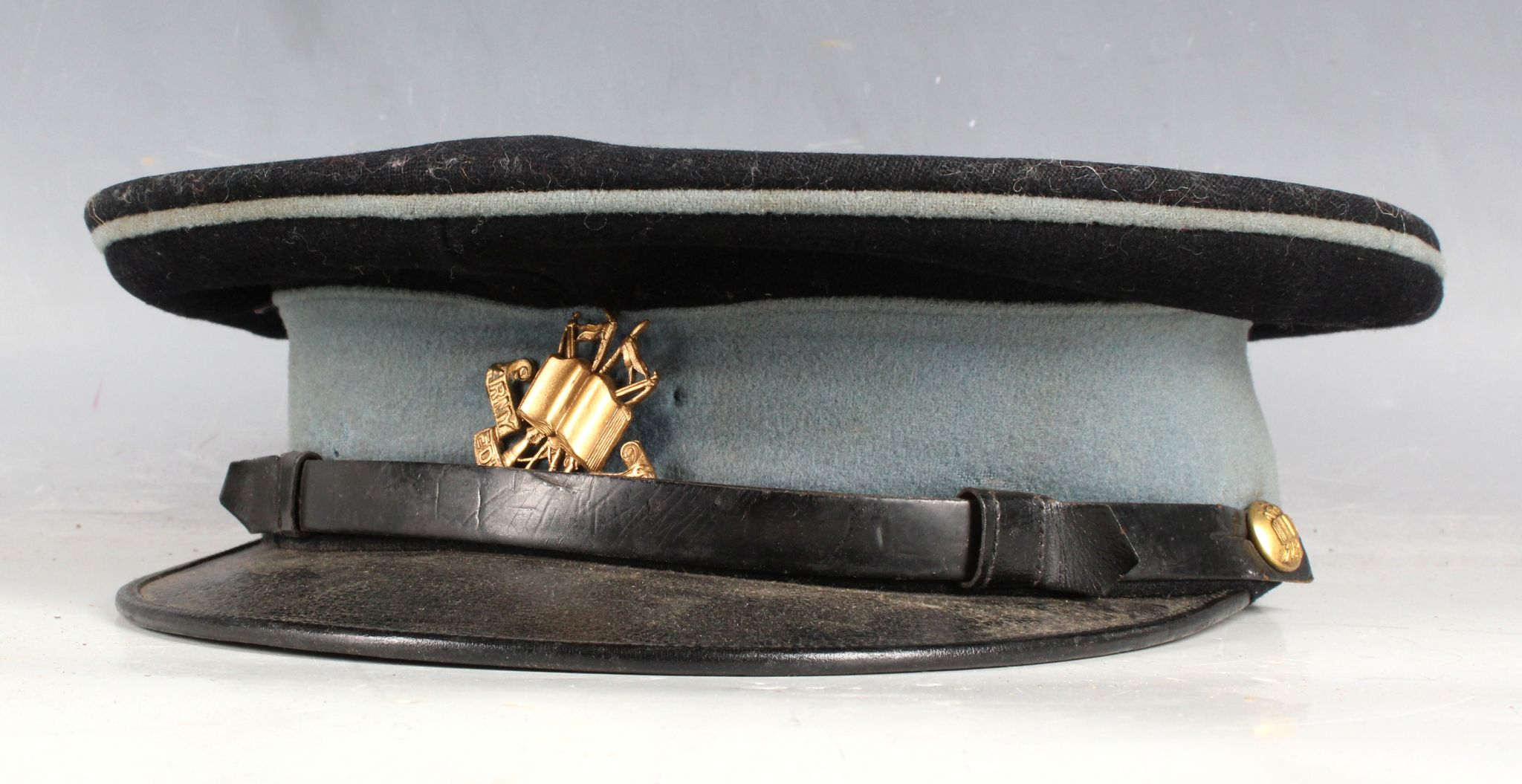 A British Army Officer's No1 dress cap Army Education Corps