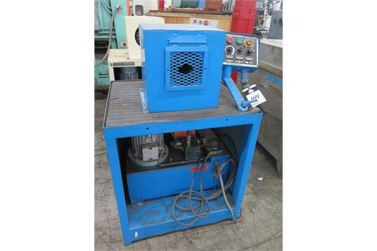 Finn-Power mdl  NC-20 Hydraulic Hose Crimping Machine