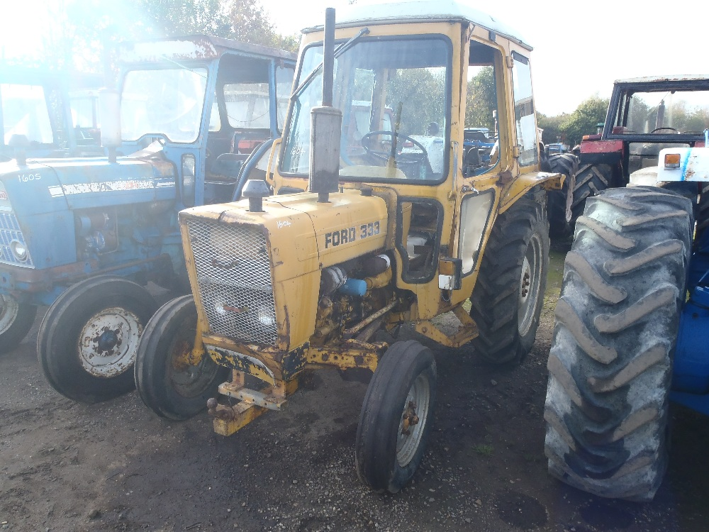 Ford Tractor Gearboxes : Ford wd tractor with floor change gearbox